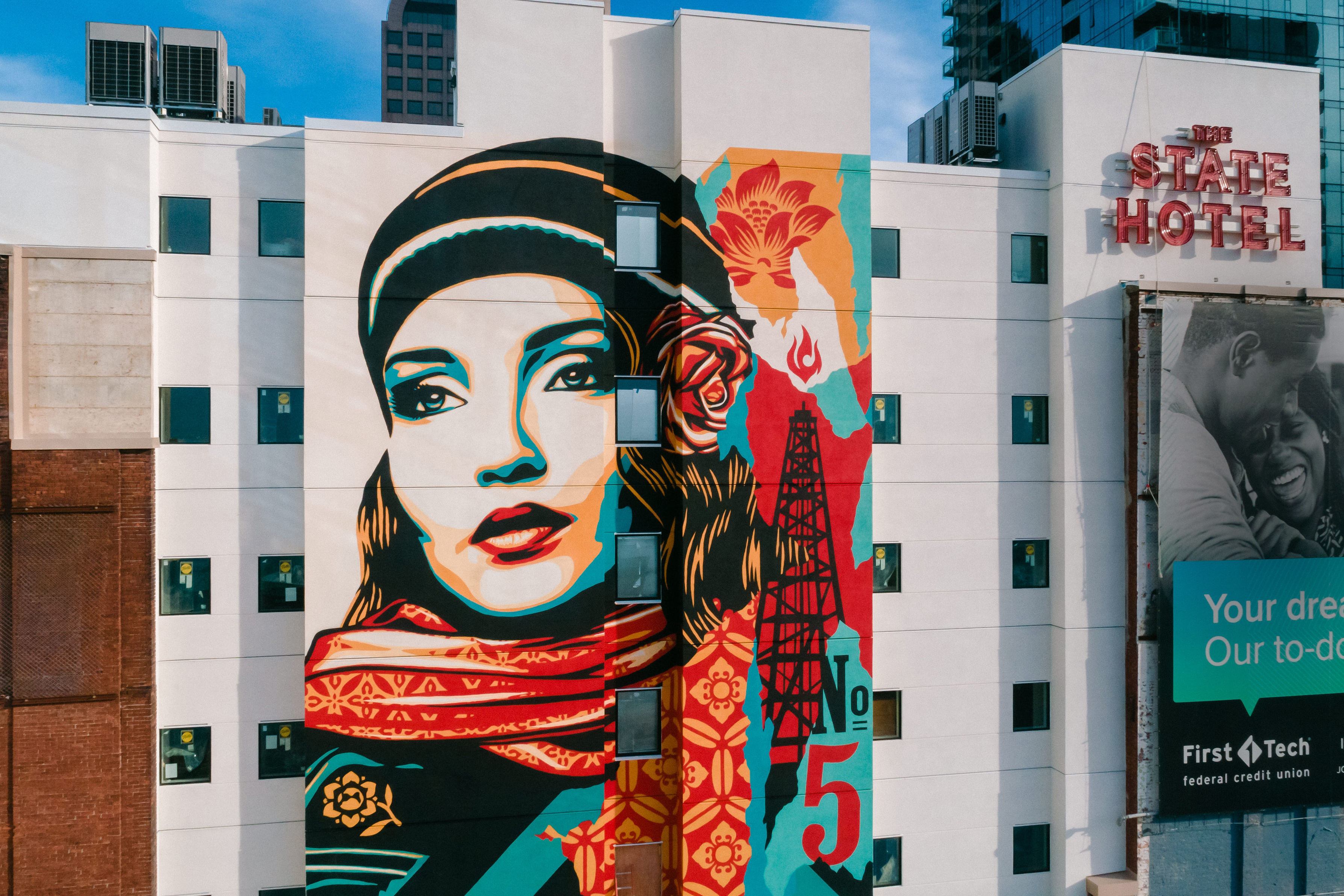 State Hotel Mural