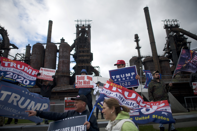 Trump Tariffs Steel Factory