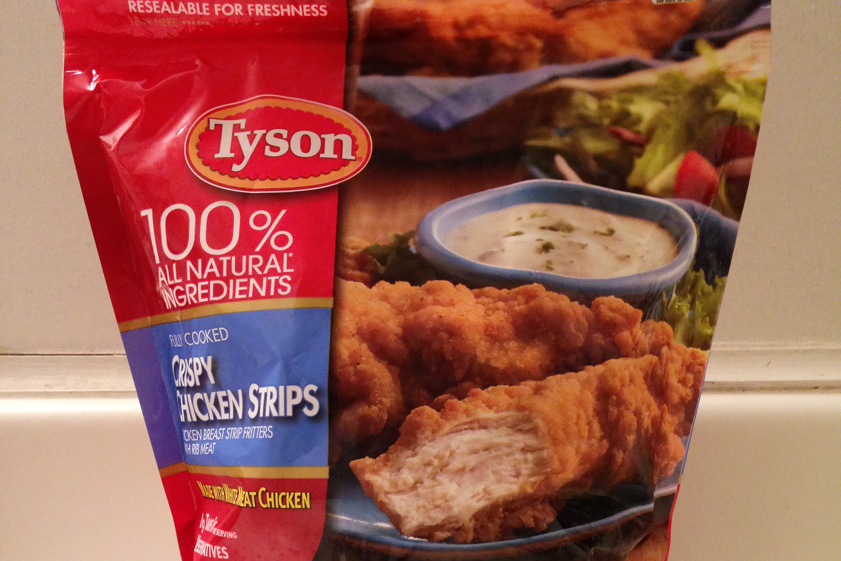 Tyson Crispy Chicken Strips Recalled
