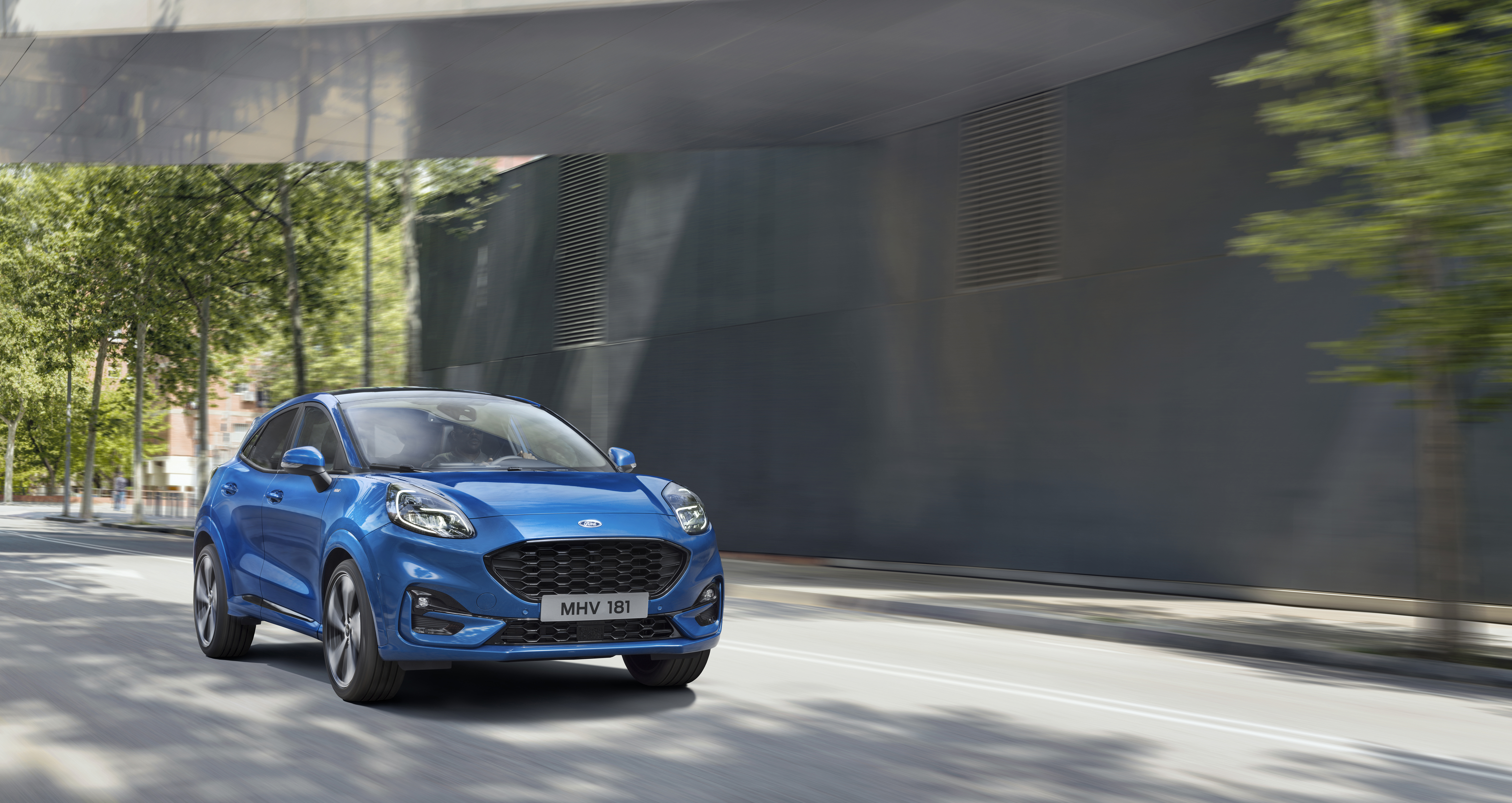 Ford launched its new Puma SUV this week.
