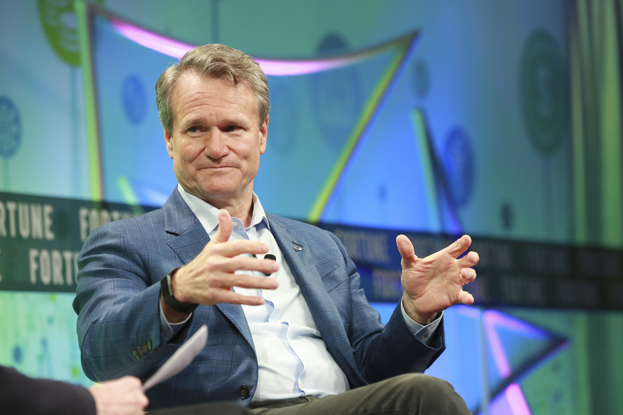 Brian Moynihan CEO of Bank of America at Brainstorm Finance