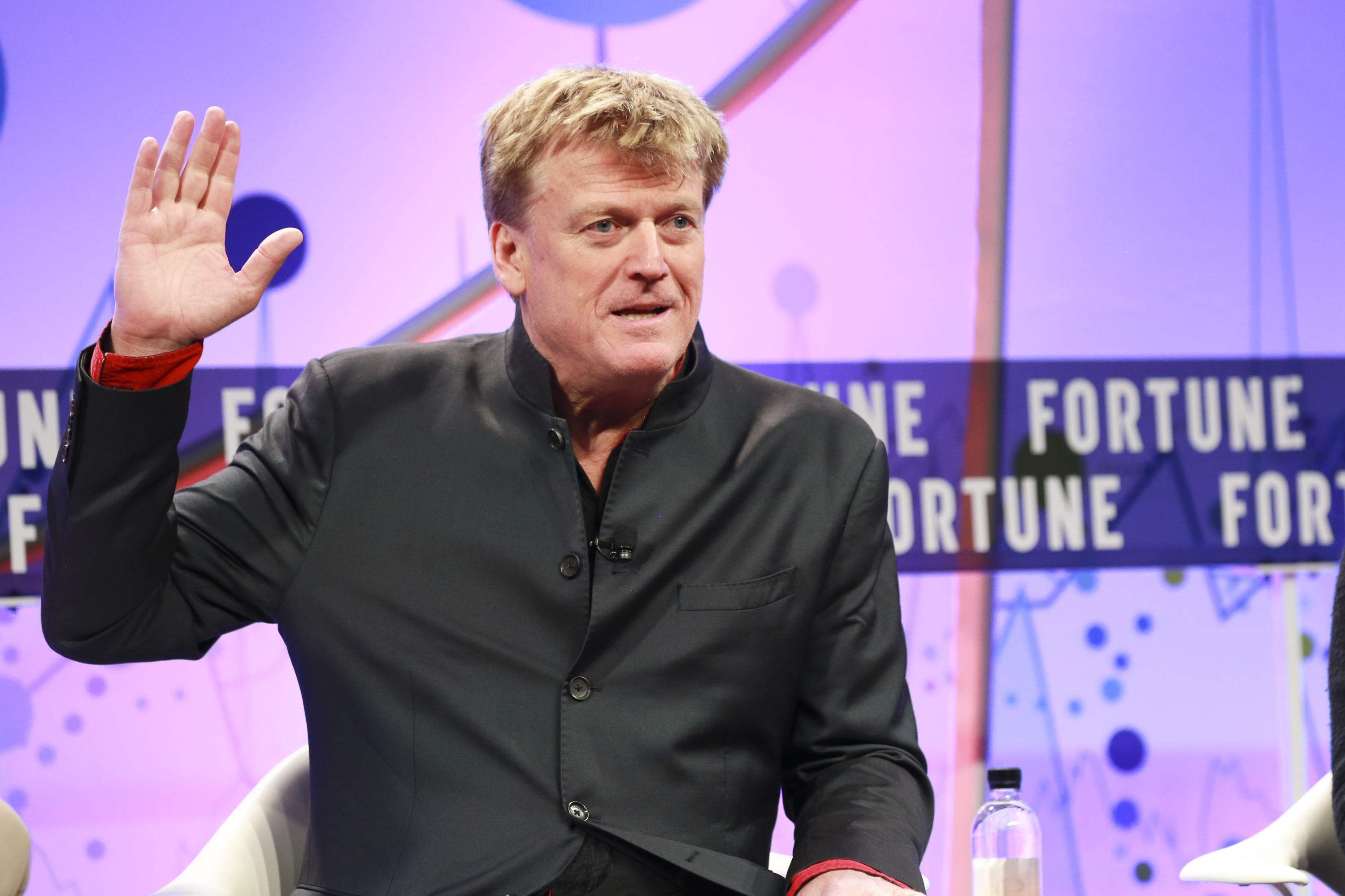 Patrick Byrne, CEO of Overstock.com at Fortune Brainstorm Finance.