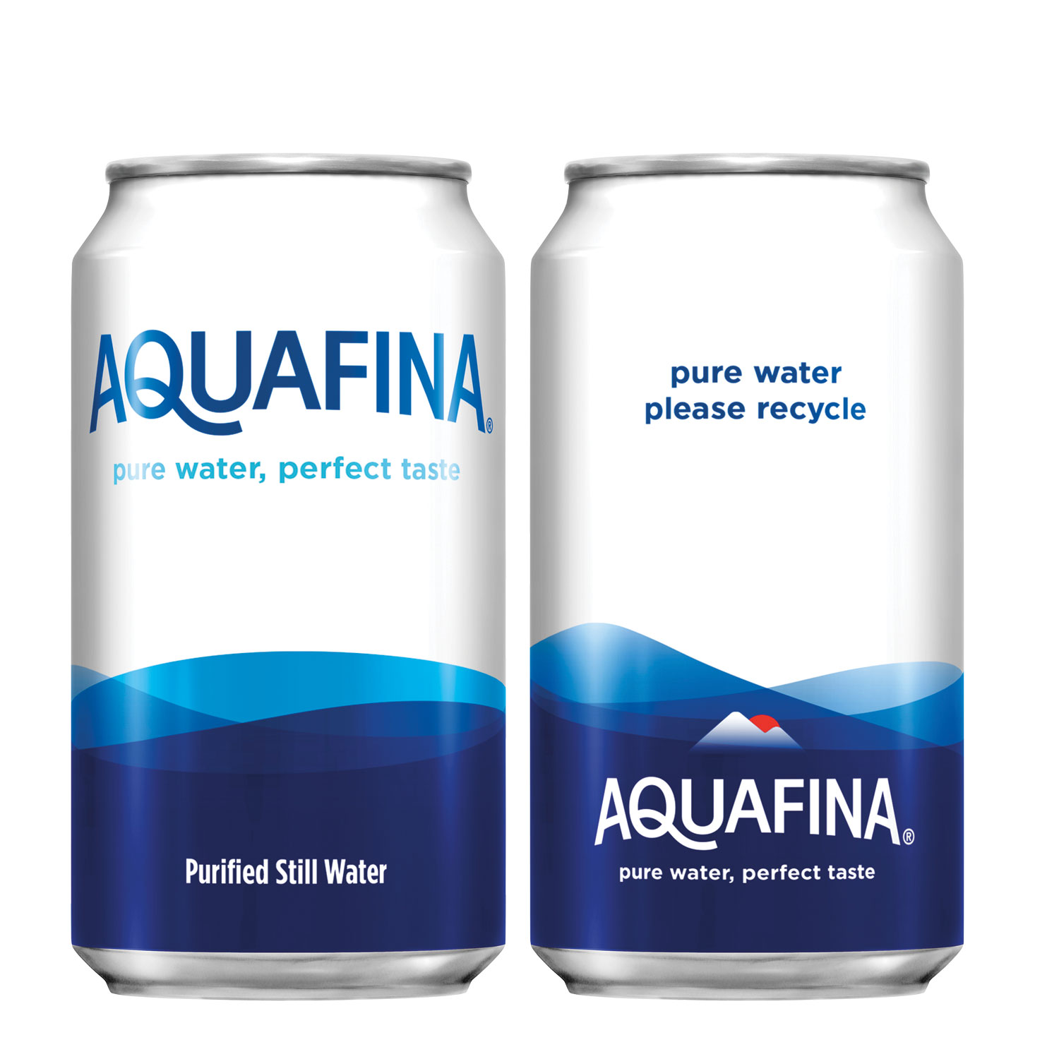 PepsiCo is testing Aquafina in cans in an attempt to move away from plastic.