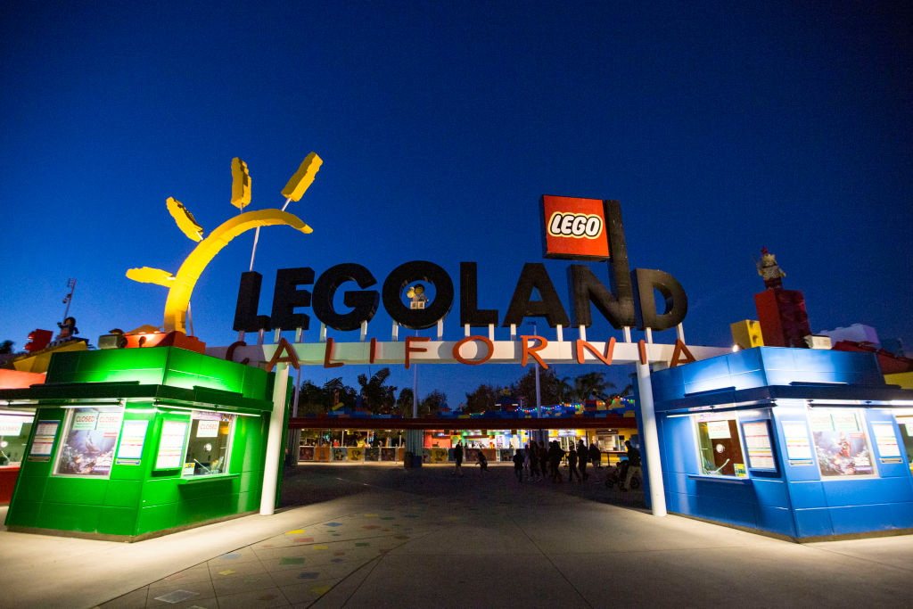 A Legoland in Carlsbad, California. The family behind Lego is part of an investor group that is buying Legoland back and taking its parent company private. (Photo by Daniel Knighton/Getty Images)