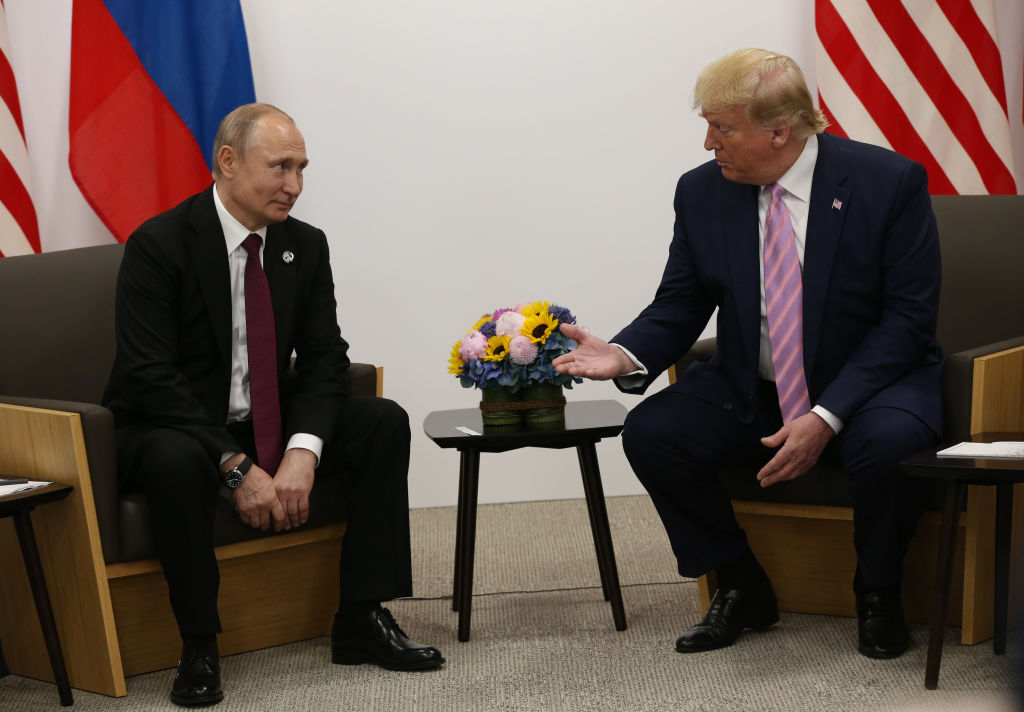 Trump And Putin Joke About U S Election Meddling At G20 Fortune