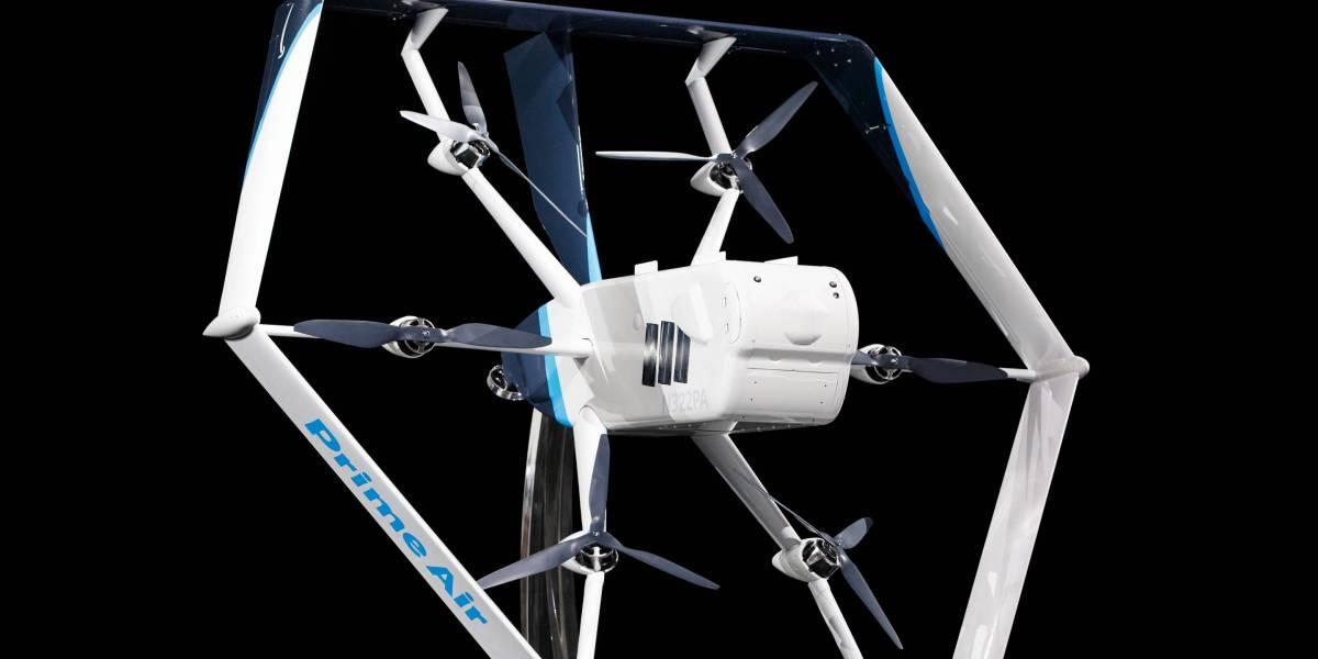 Amazon Reveals Its Latest Delivery Drone Design