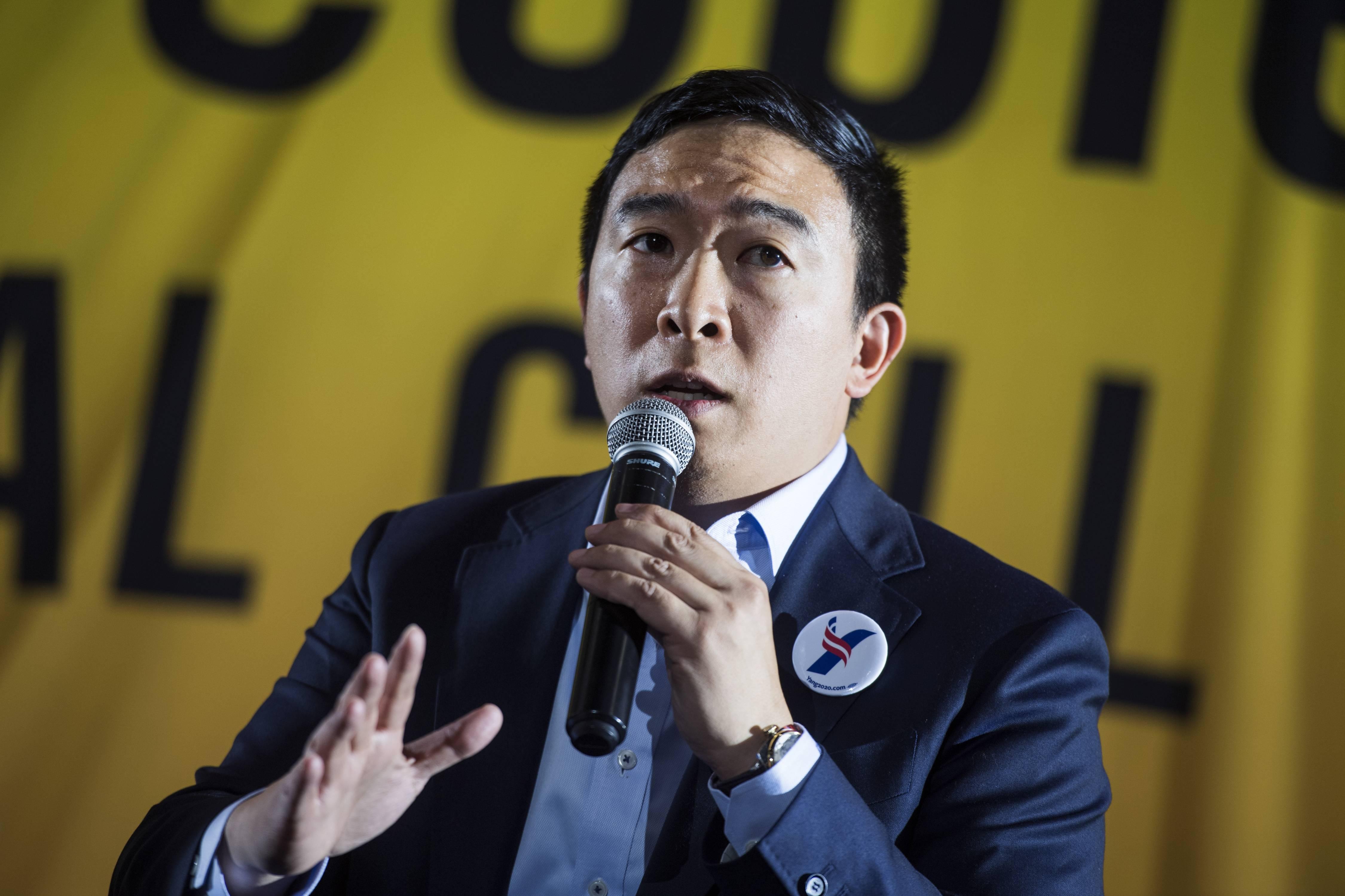 Andrew Yang Democratic Debate