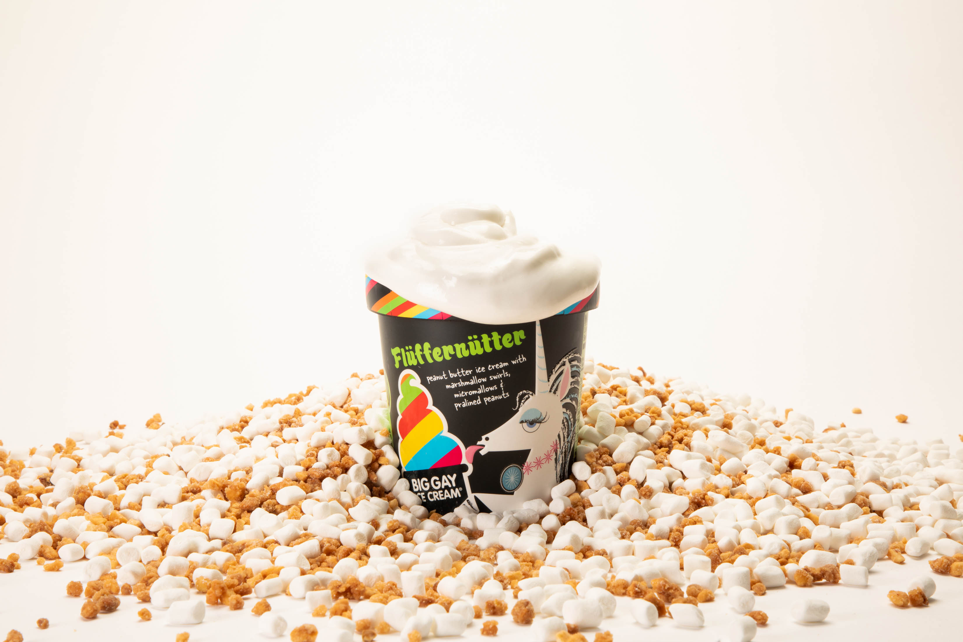 Fluffernutter, a new flavor from New York wunderkind Big Gay Ice Cream.