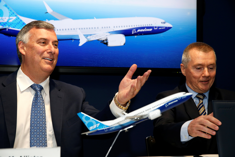 Boeing-IAG-Paris Air Show-Boeing 737 Max