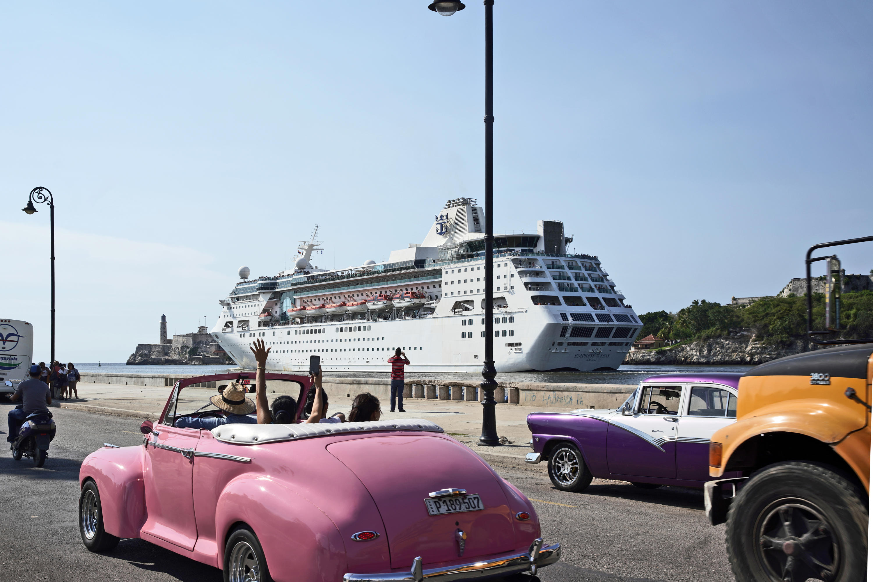Last US cruise ship leaves Cuba as Trumps bans cruise ships from sailing to Cuba