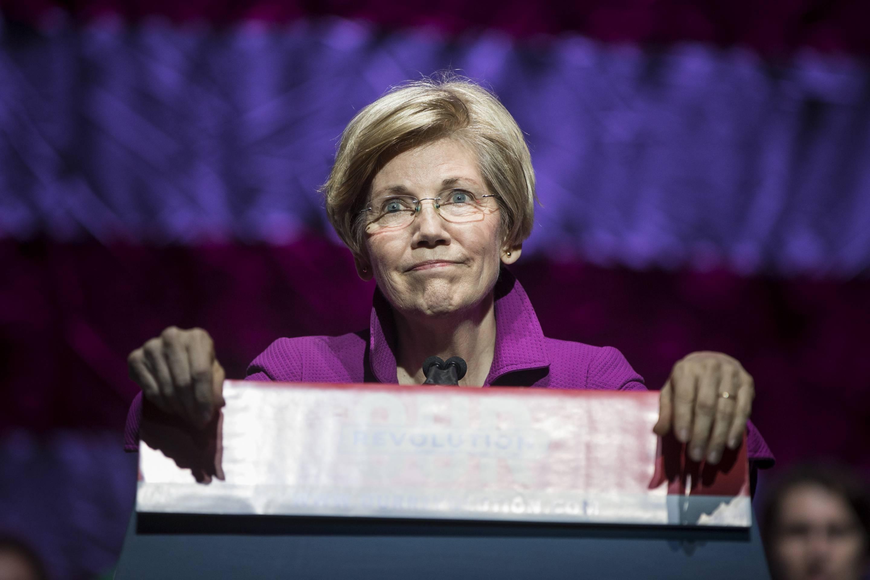 Bernie Sanders And Elizabeth Warren Hold Progressive Political Rally In Boston