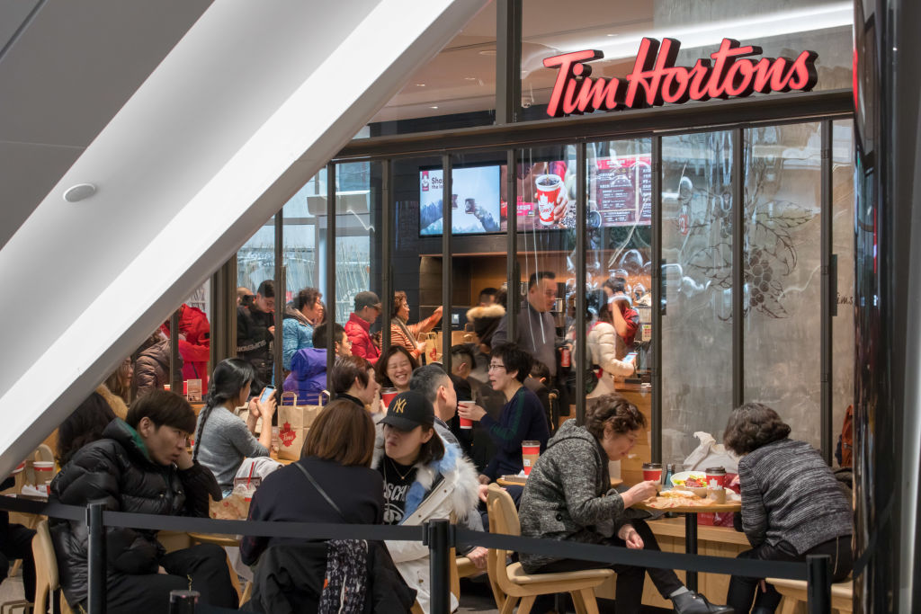 Canada's Tim Hortons Opens First Store In Chinese Mainland