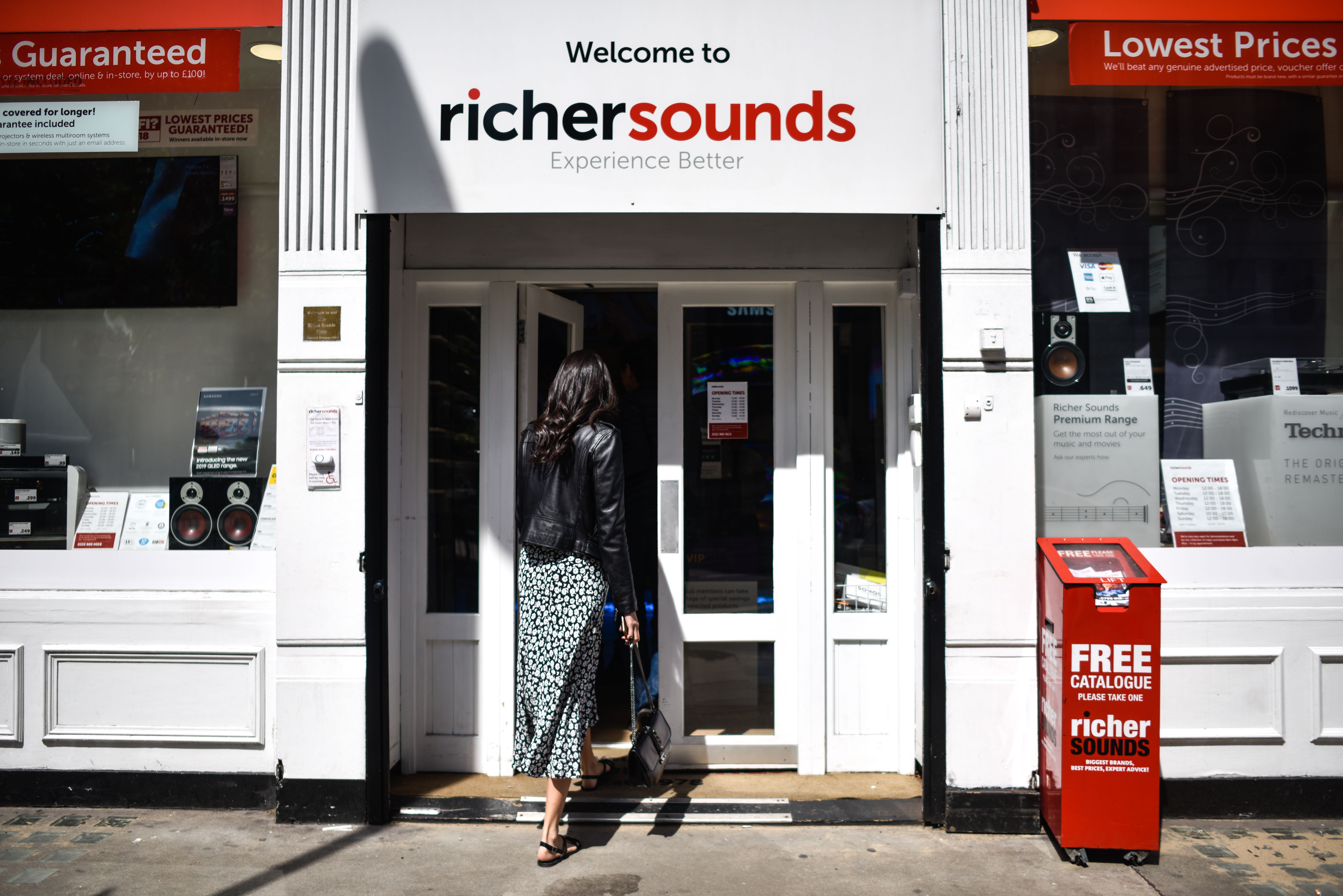 Richer Sounds Boss Hands Staff 60 Per Cent Of The Company