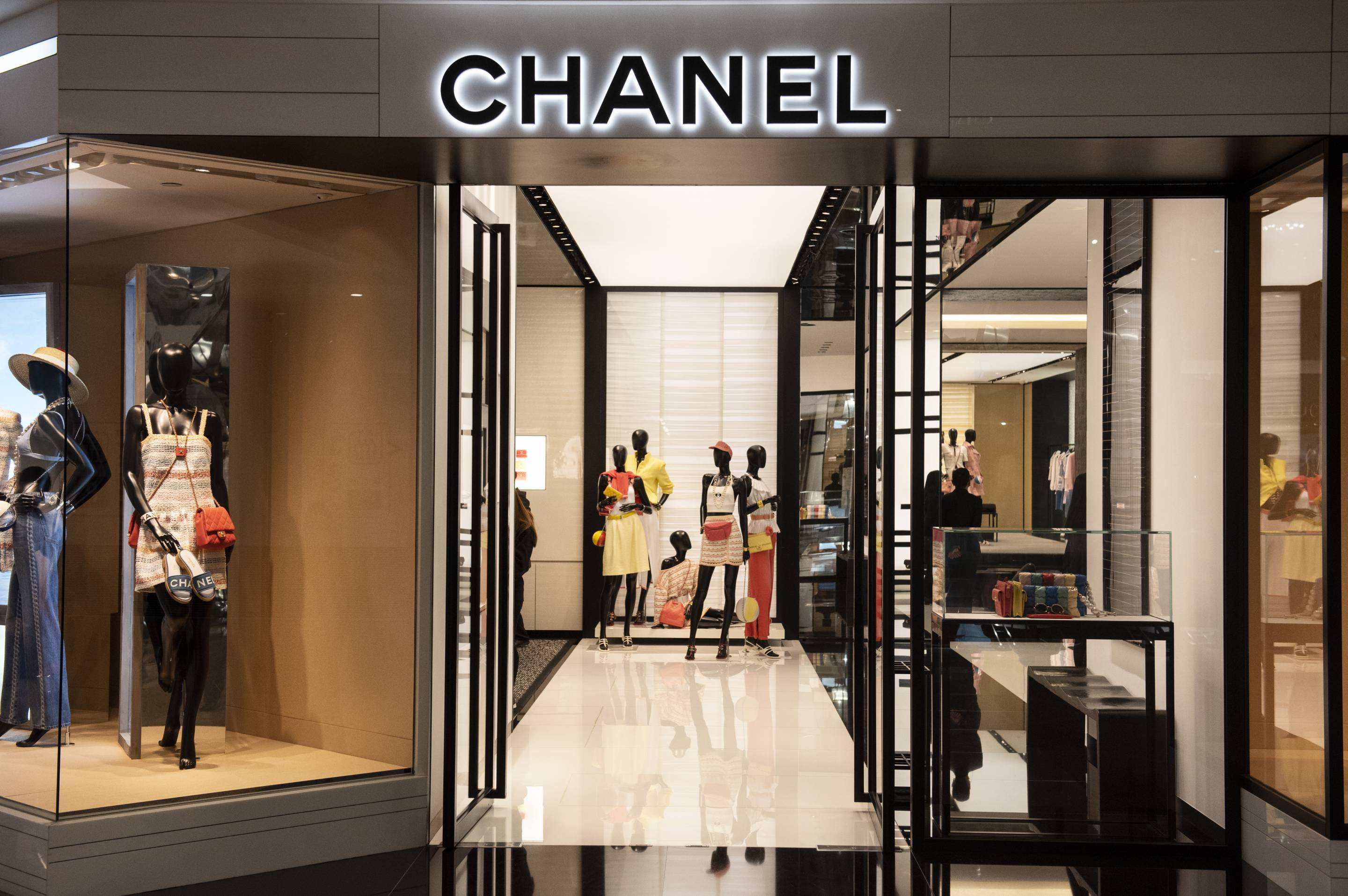 French multinational Chanel clothing and beauty products