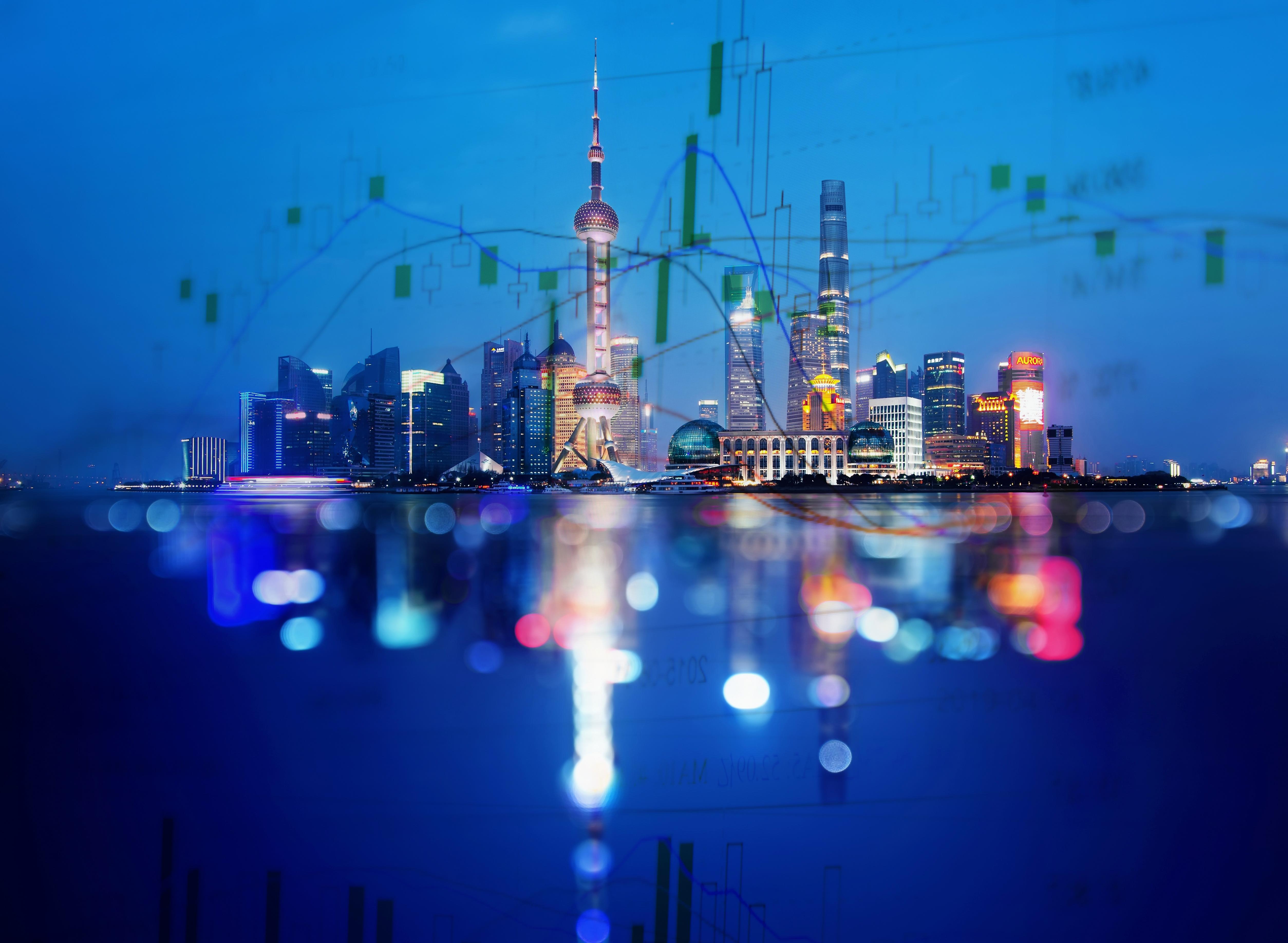 Trend of Shanghai City Scenery Data