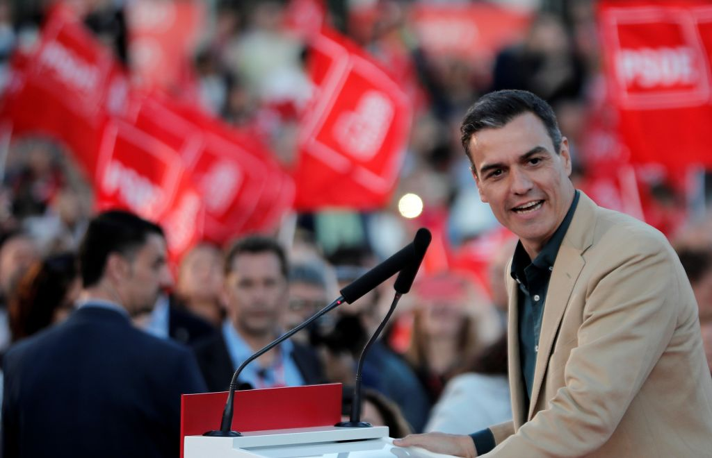Spanish Socialist Party's campaign