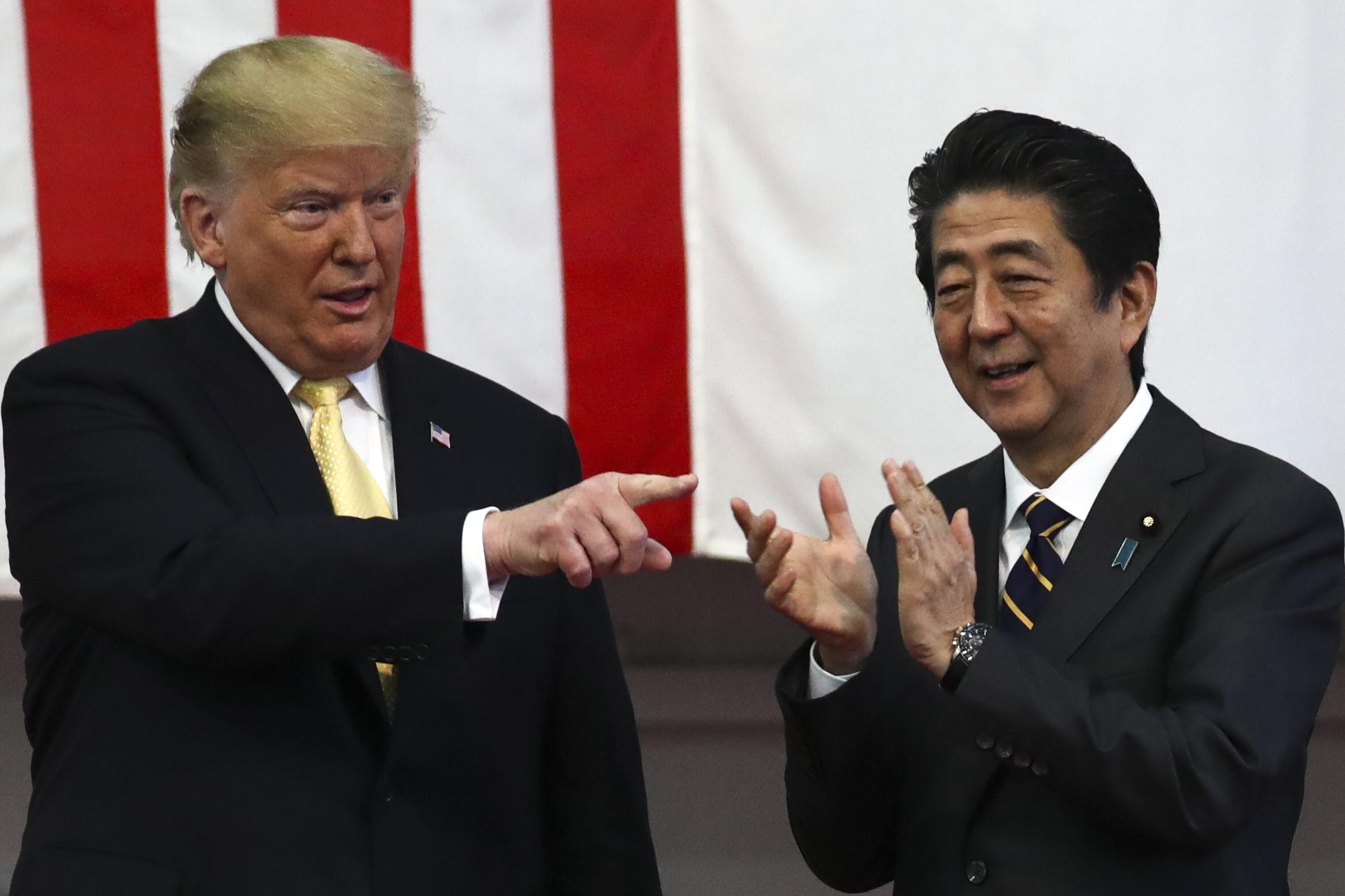 U.S. President Donald Trump in Japan