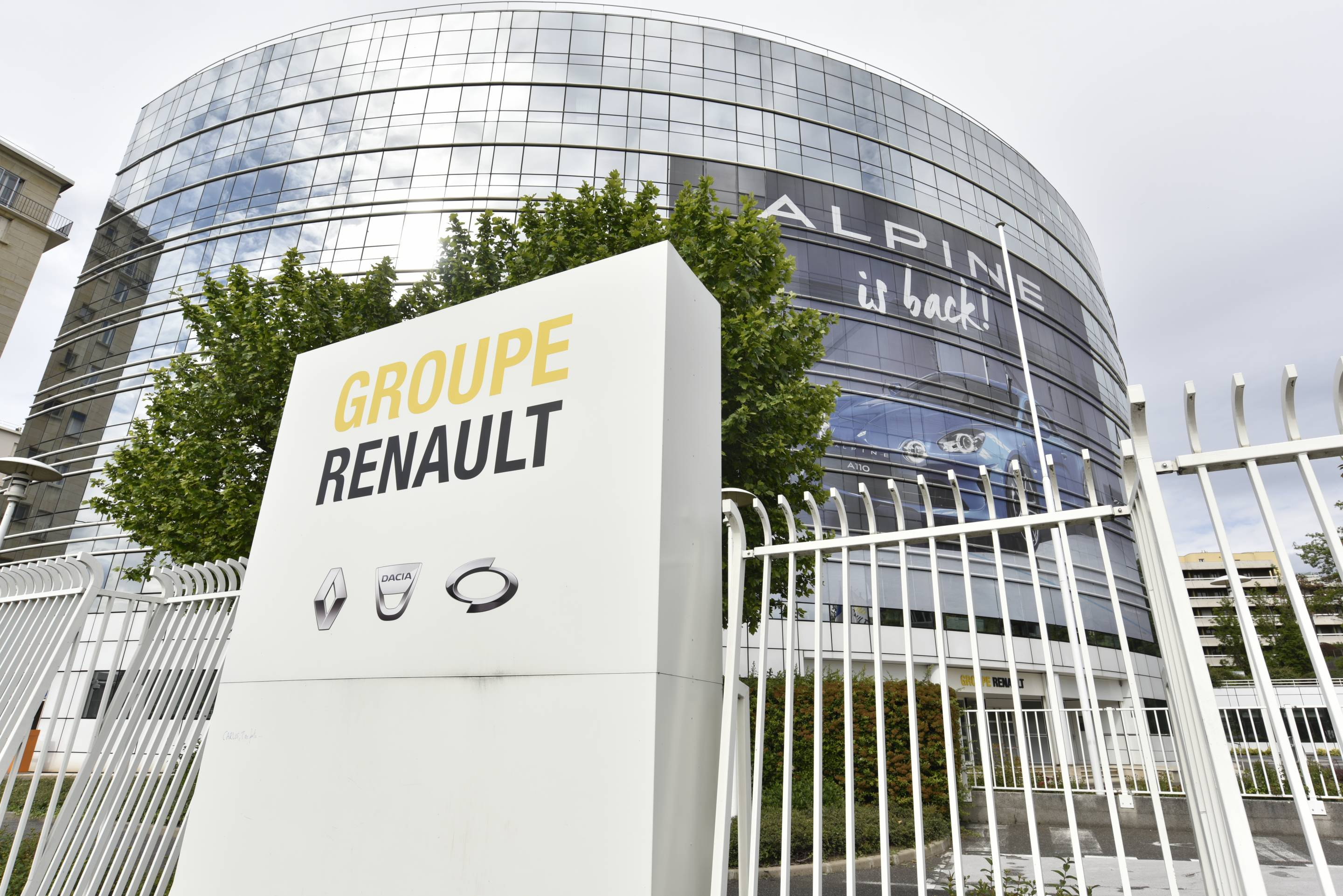 Renault Headquarter In Boulogne Billancourt