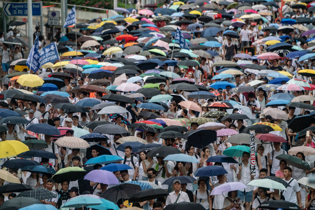 Protested Hong Kong Extradition Law Is Denounced as Bad for Business