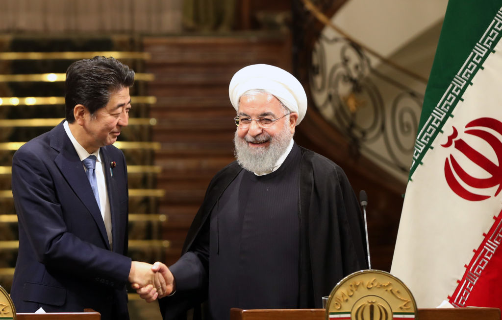 IRAN-JAPAN-US-DIPLOMACY