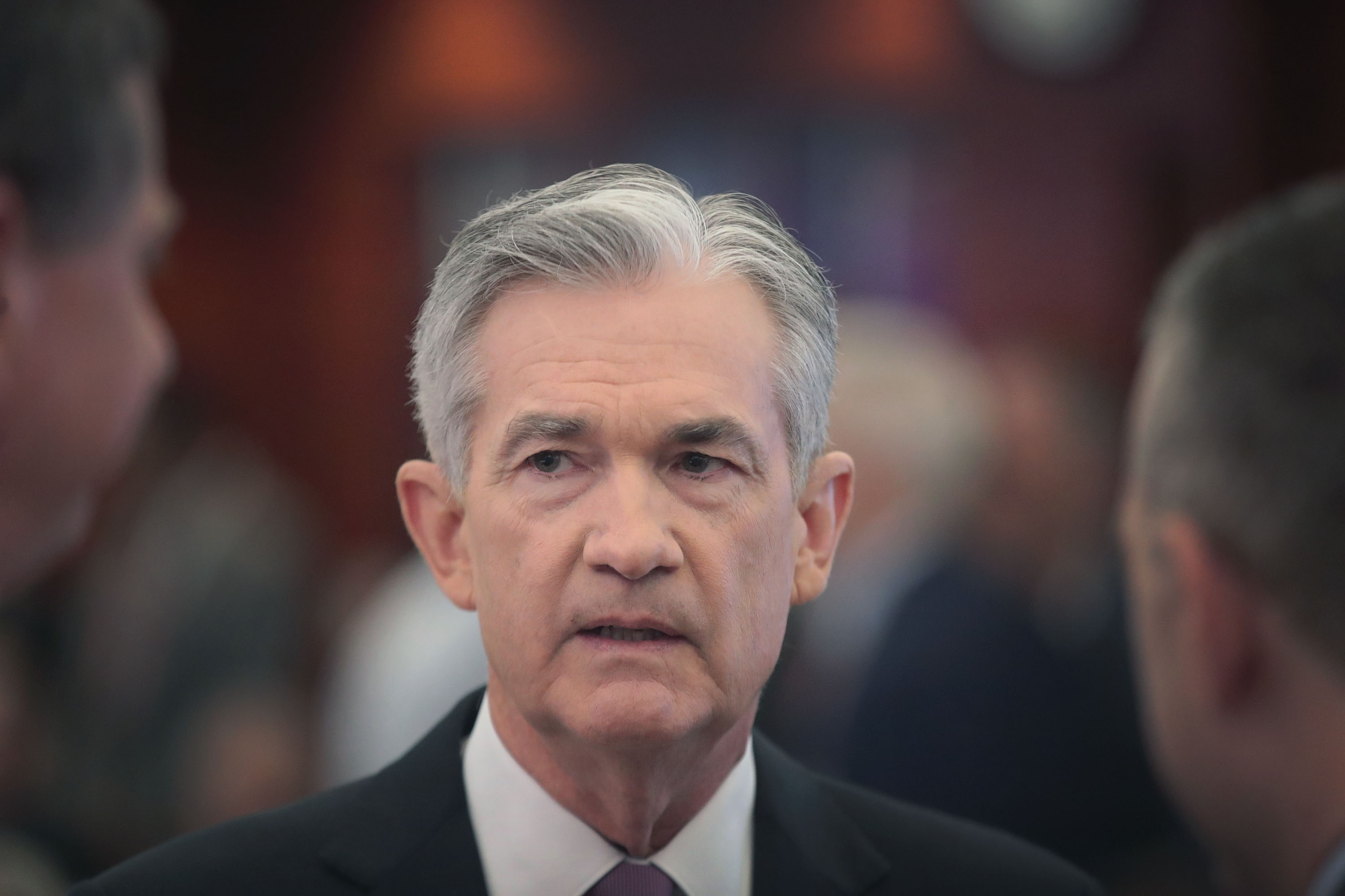 Fed Chair Jerome Powell Attends Conference At Federal Reserve Bank Of Chicago