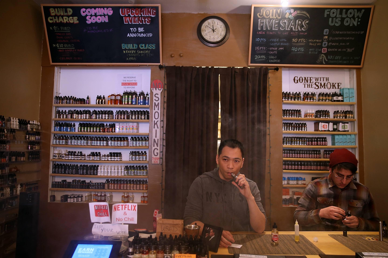 SF e-cigarette store