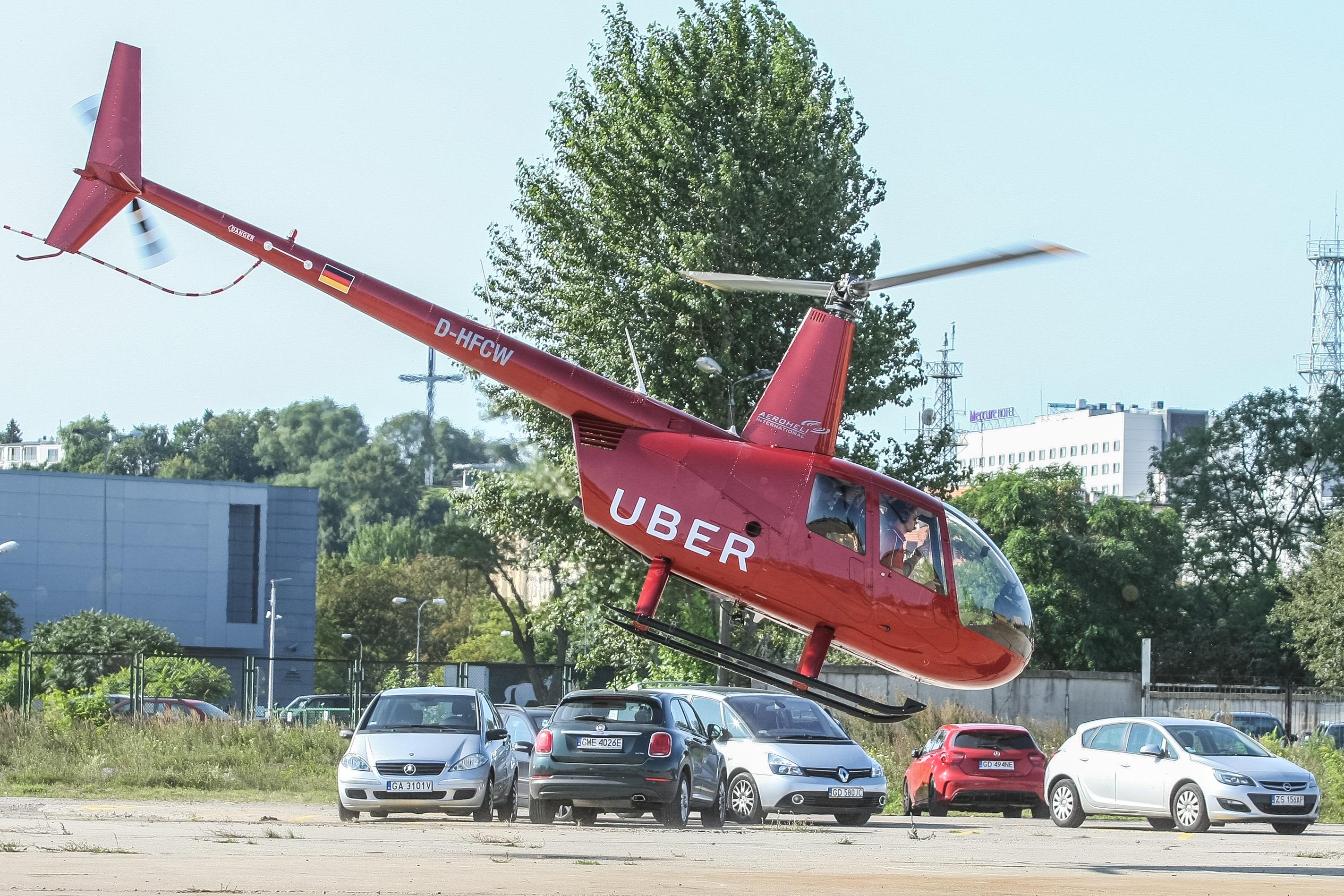 Uber Chopper in Gdynia