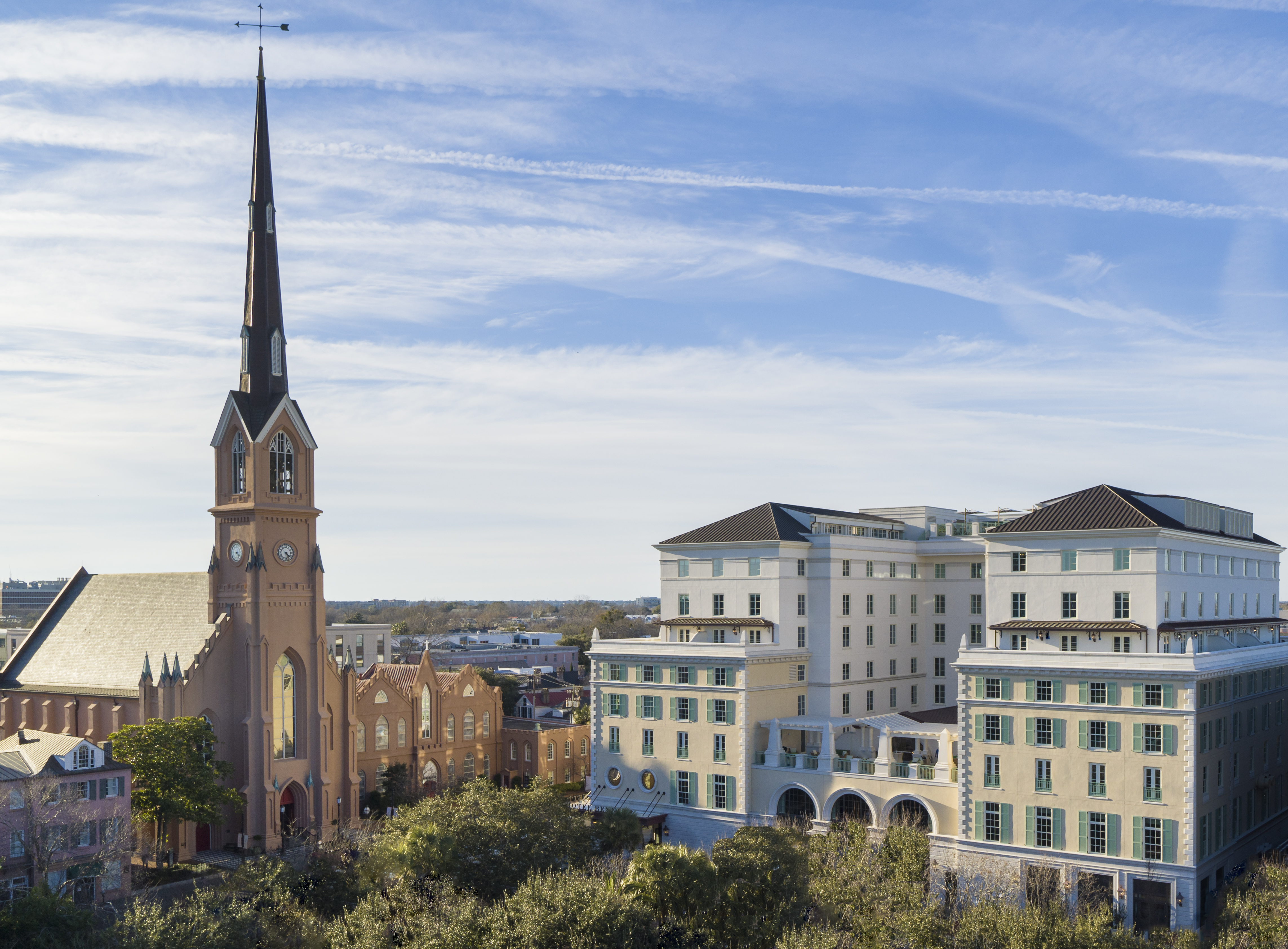 The South's new luxury Hotel Bennett, inspired by native Charlestonians and European classic design, is located on fashionable King Street.