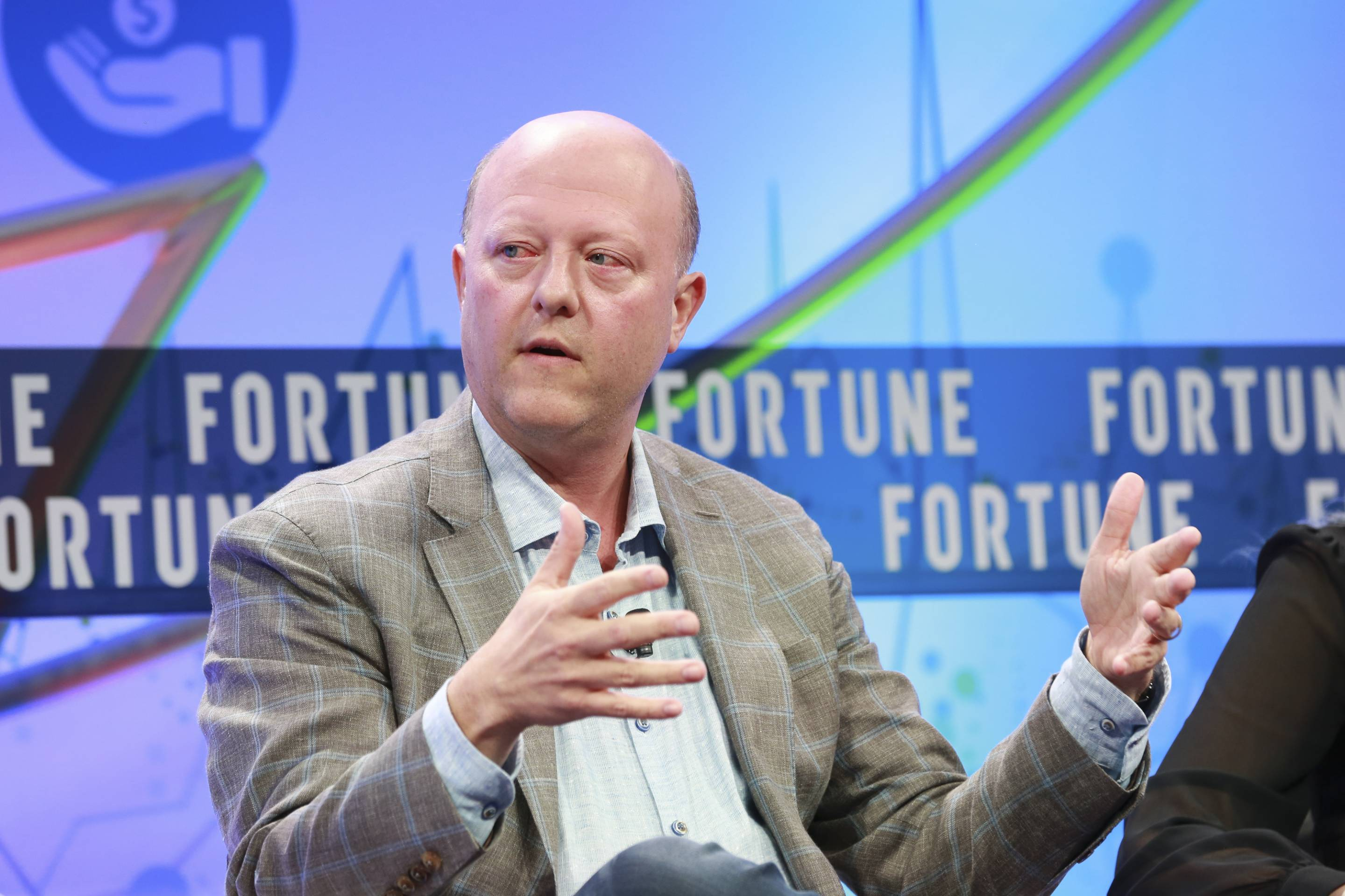 Circle CEO Jeremy Allaire at Fortune's Brainstorm Finance conference on June 19, 2019, in Montauk, N.Y.