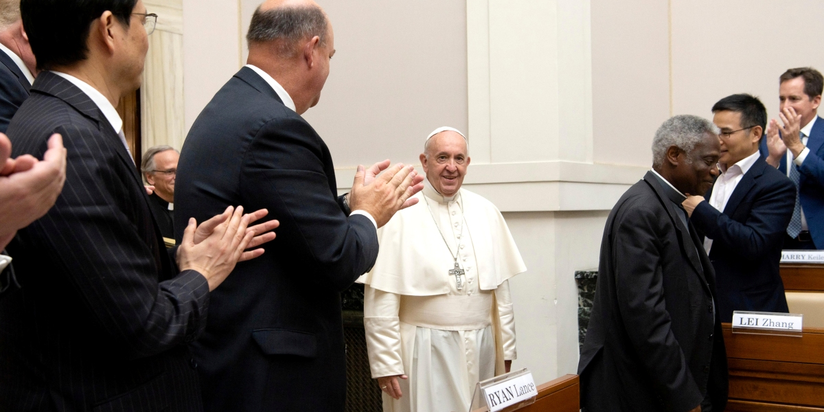 Pope Francis Just Convinced These Big Oil CEOs to Alter Their Message on Climate Change