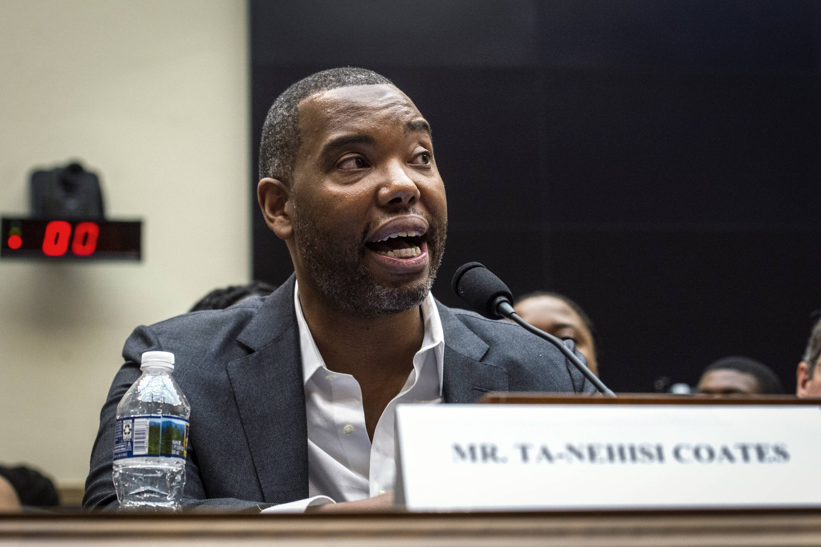 Author Ta-Nehisi Coates testifies about reparations.