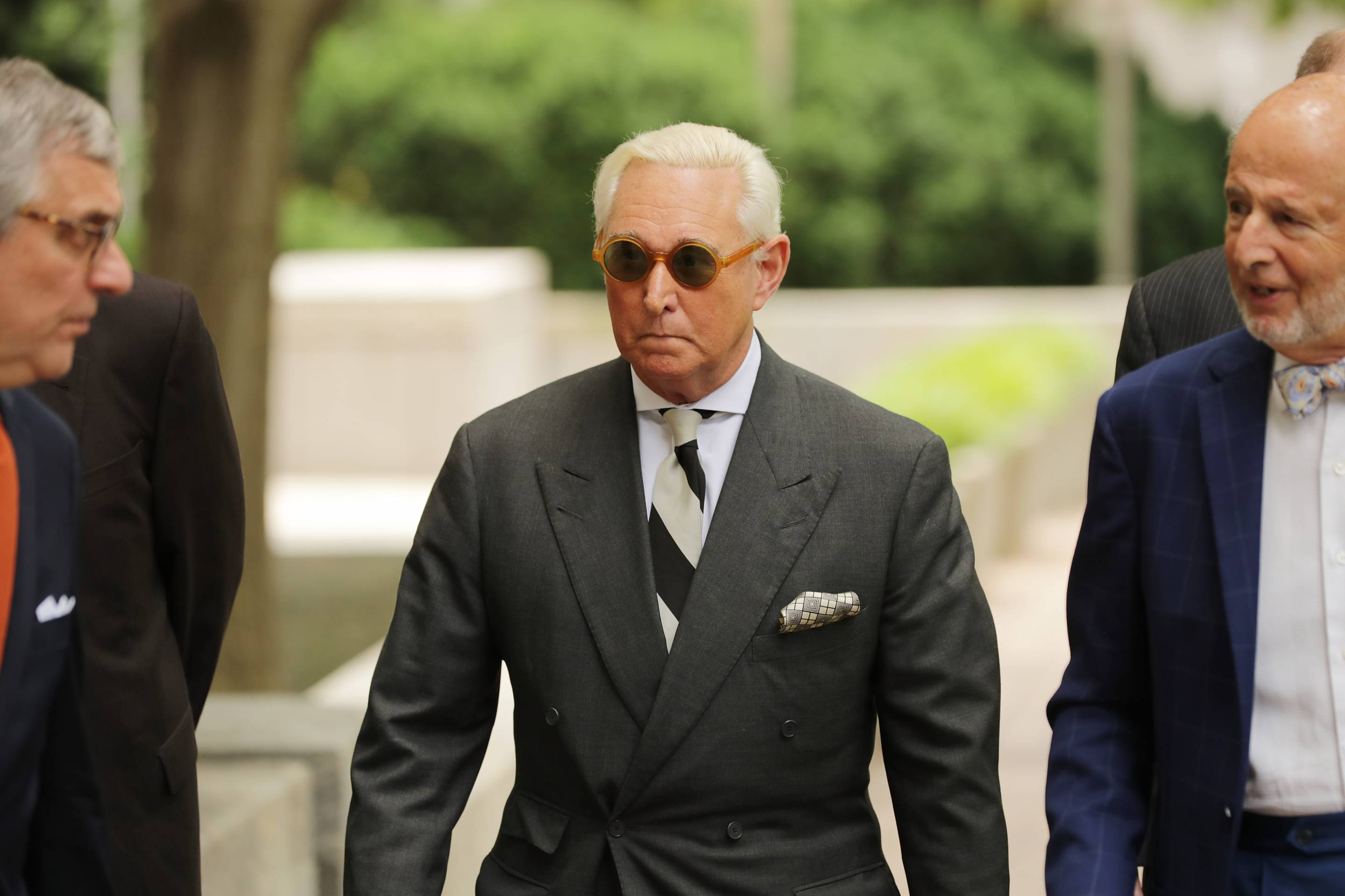 Trump Political Advisor Roger Stone Returns To Court In Effort To Dismiss Charges