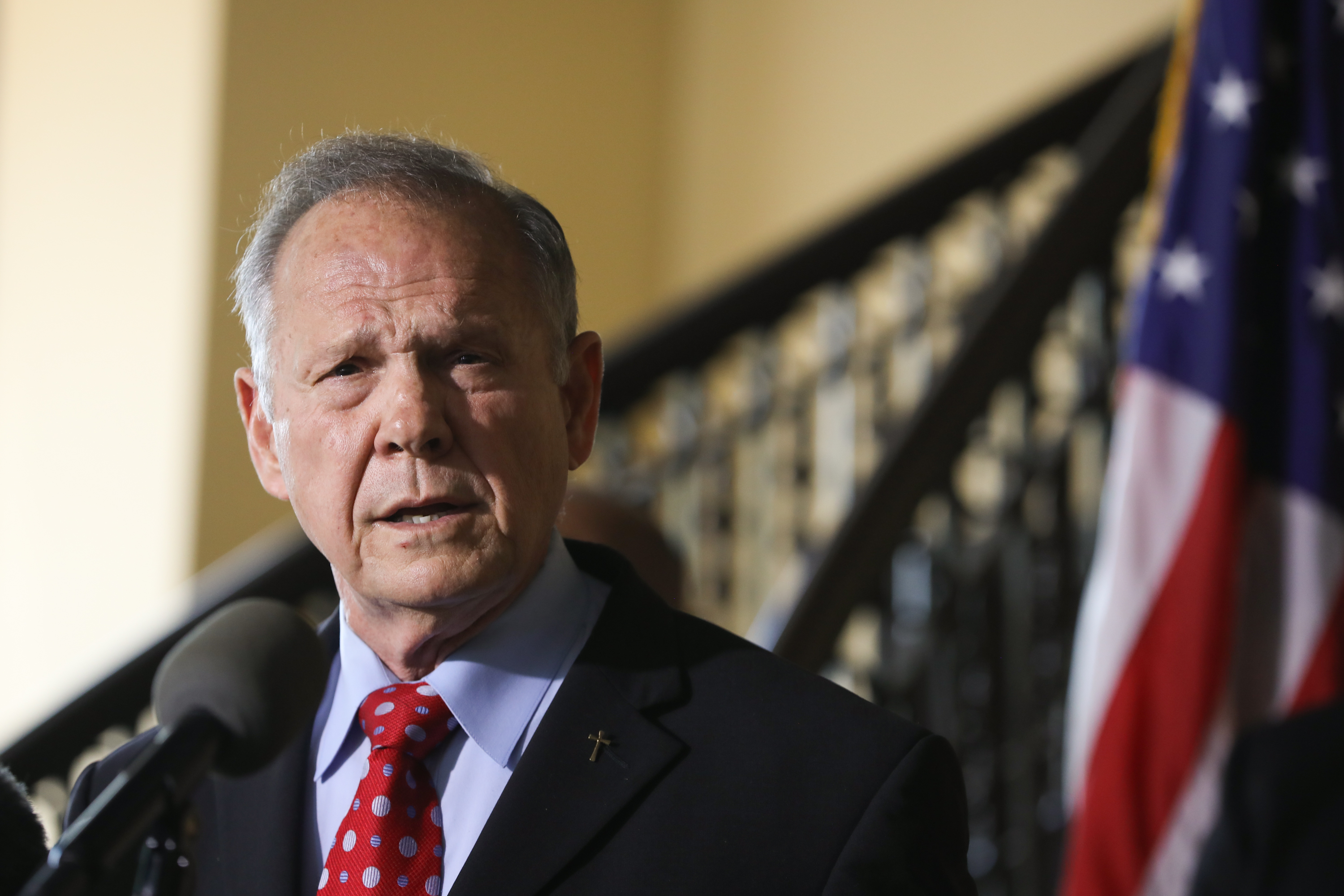 Roy Moore Announces His Plans For 2020 Senate Race