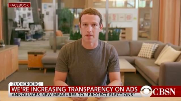 Deepfake Zuckerberg Video Goes Viral on Eve of House A I  Hearing