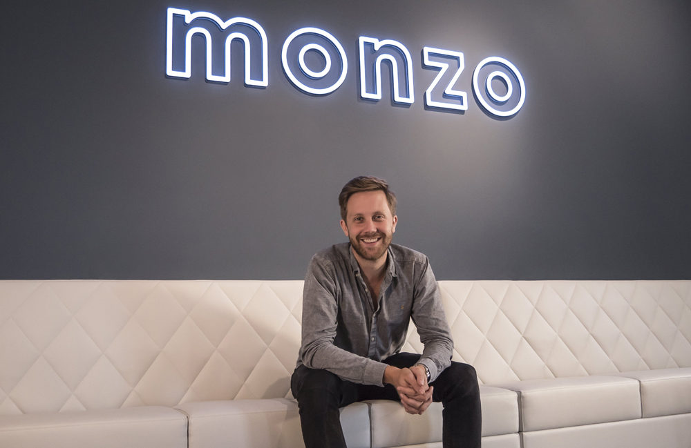 Monzo CEO and Co-Founder, Tom Blomfield.