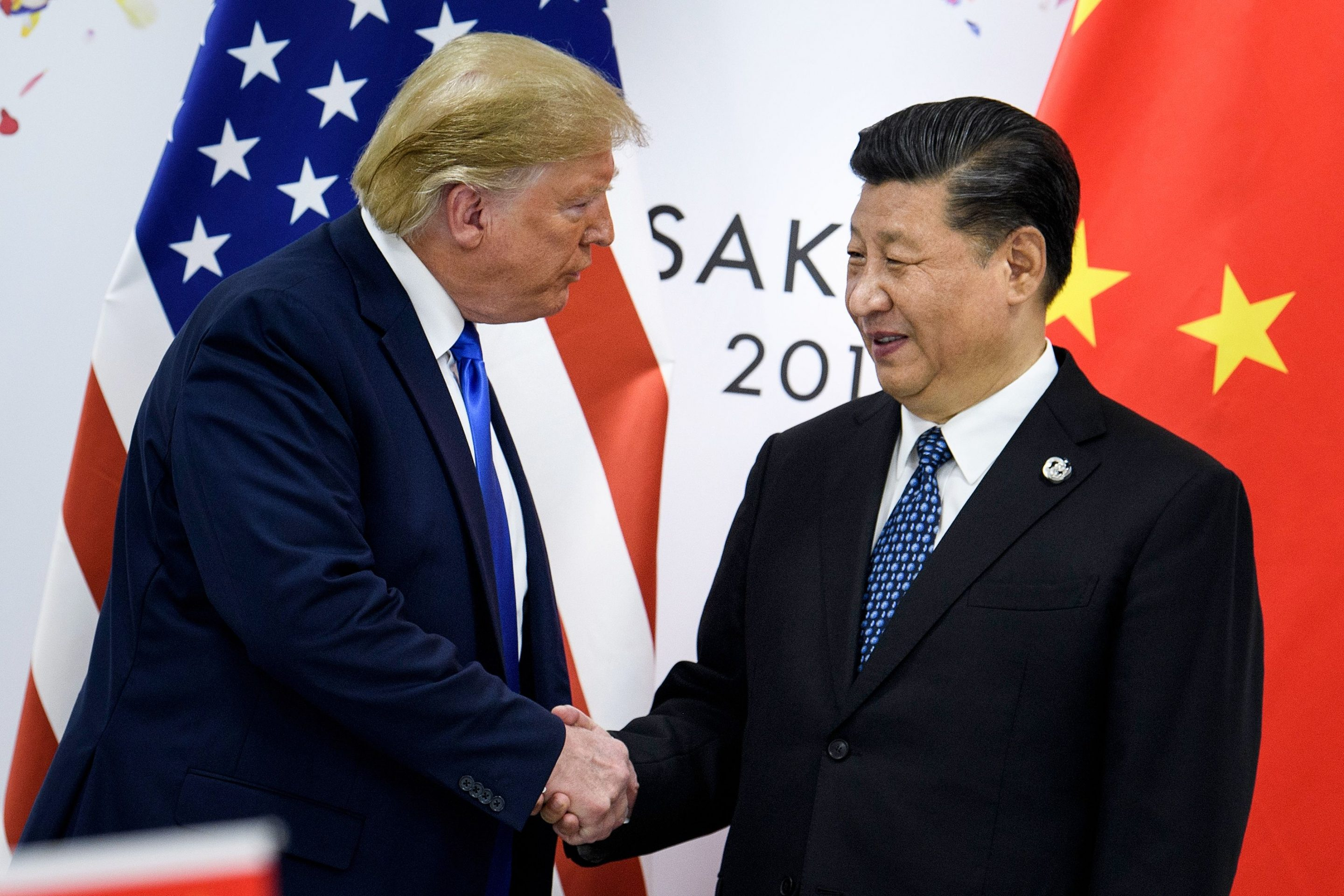 Image result for image of signing trade war truce