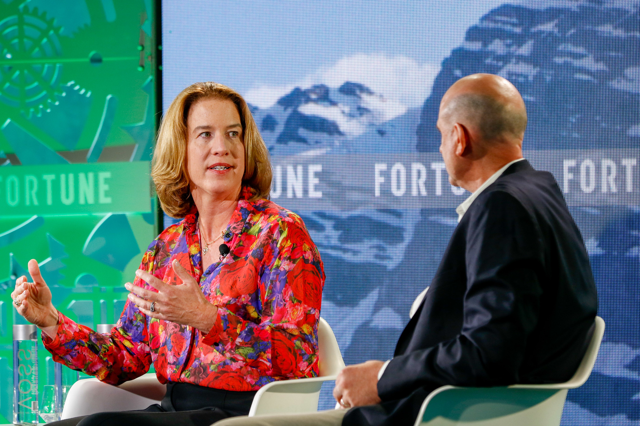 Margo Georgiadis, CEO of Ancestry.com speaks at Fortune's Brainstorm Tech conference