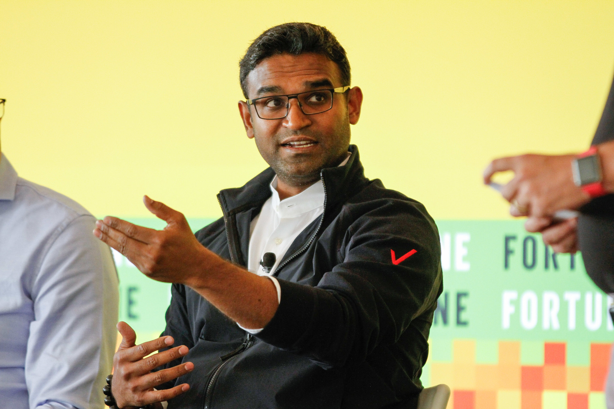 Guru Gowrappan, group CEO of Verizon Media, at Fortune's Brainstorm Tech conference in Aspen, Colo.