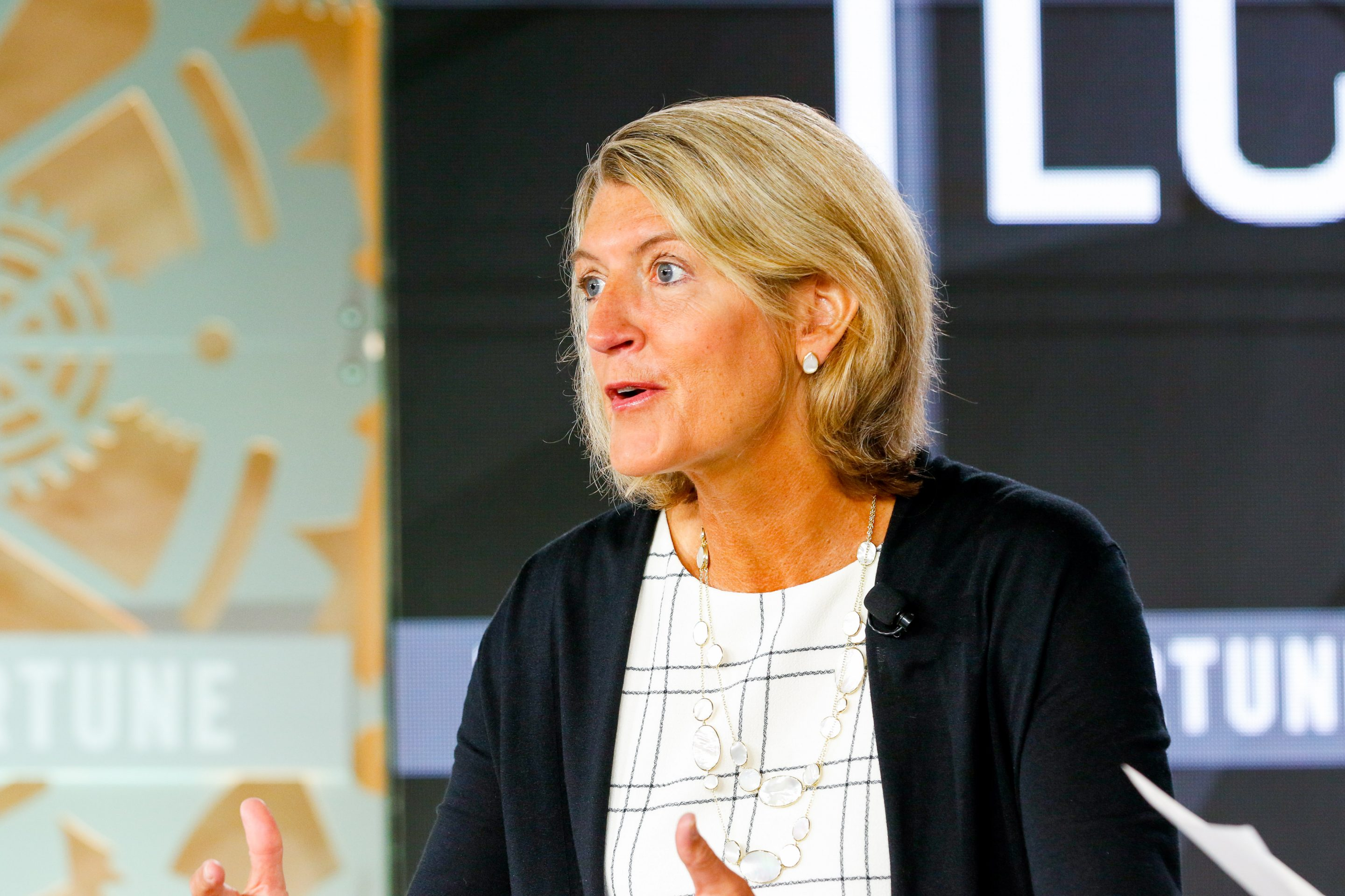 Land O'Lakes CEO Beth Ford speaks at Fortune's Brainstorm Tech conference on July 16, 2019.