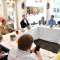 A glimpse of Fortune's Brainstorm Tech 2019 lunchtime roundtable on cybersecurity. Speakers included Dmitri Alperovitch, cofounder of CrowdStrike; Mike Brown, director of the  Defense Department's defense innovation unit;  Dorian Daley, general counsel of Oracle; and  Tim Junio, CEO of startup Expanse.