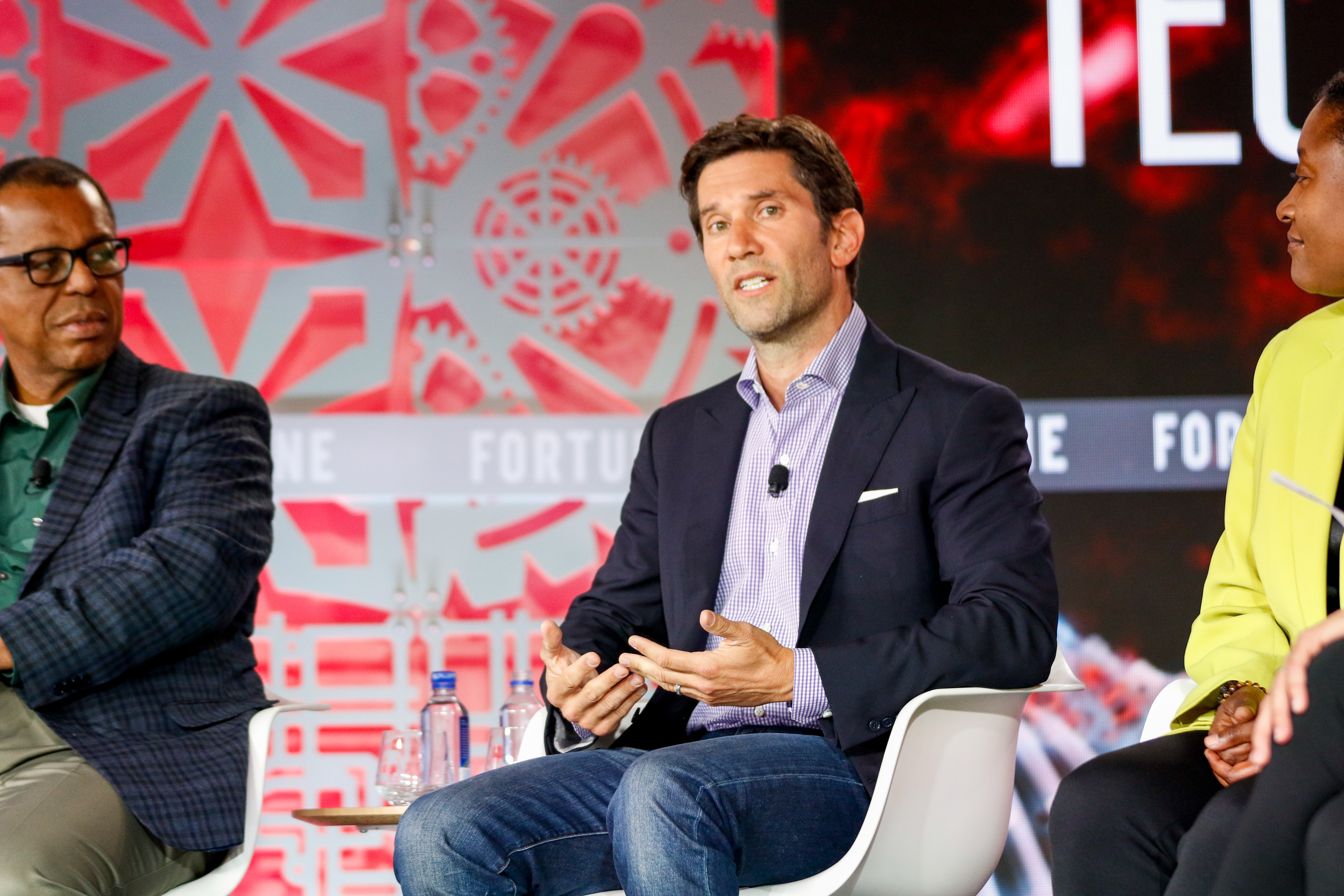 David Richter, chief business officer of electric scooter startup Lime, chats about the future of mobility alongside Ford chief technology officer Ken Washington and Zoox CEO Aicha Evans a t Fortune's 2019 Brainstorm Tech conference.