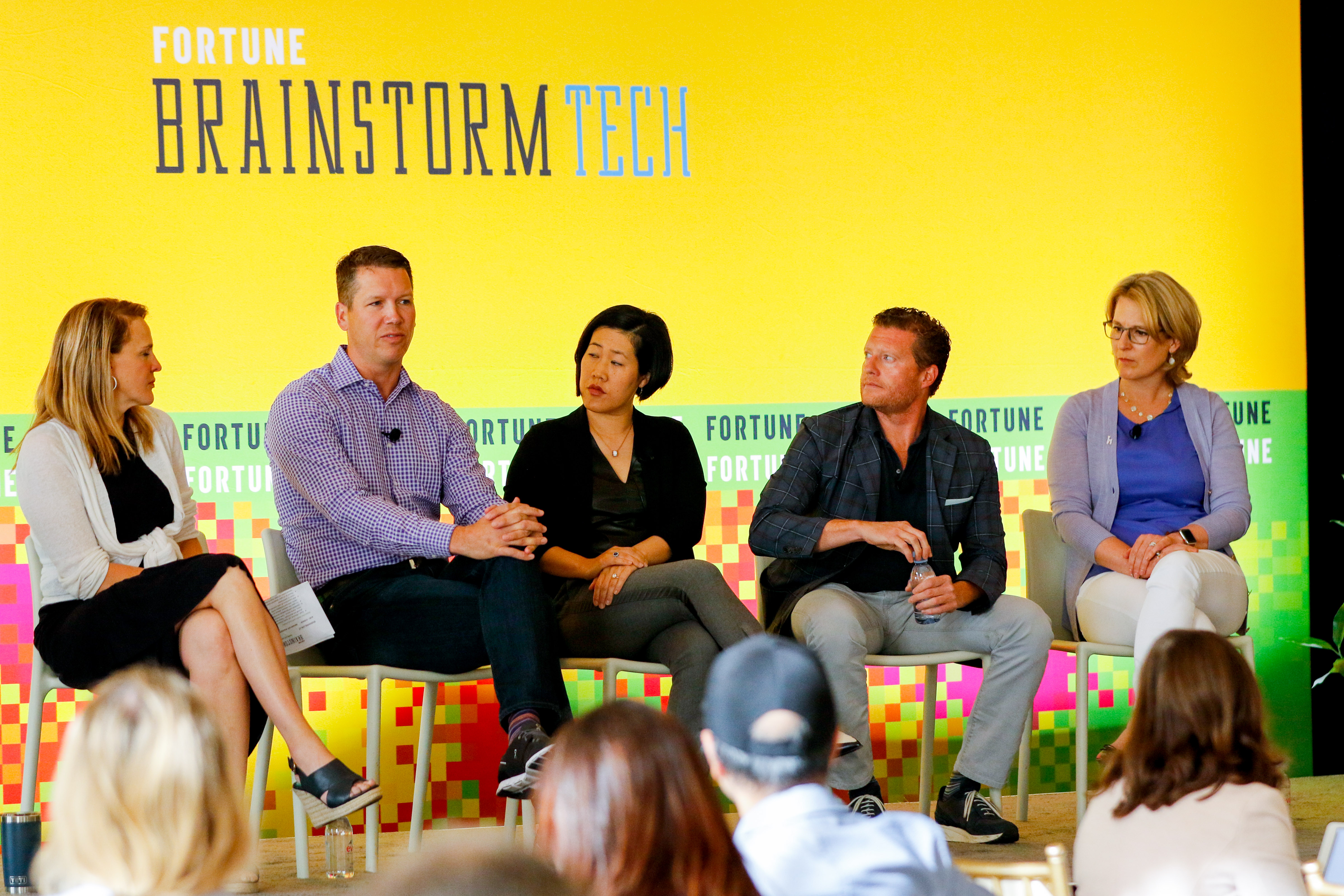 A panel at Fortune Brainstorm Tech addressed how to get more women on corporate boards.