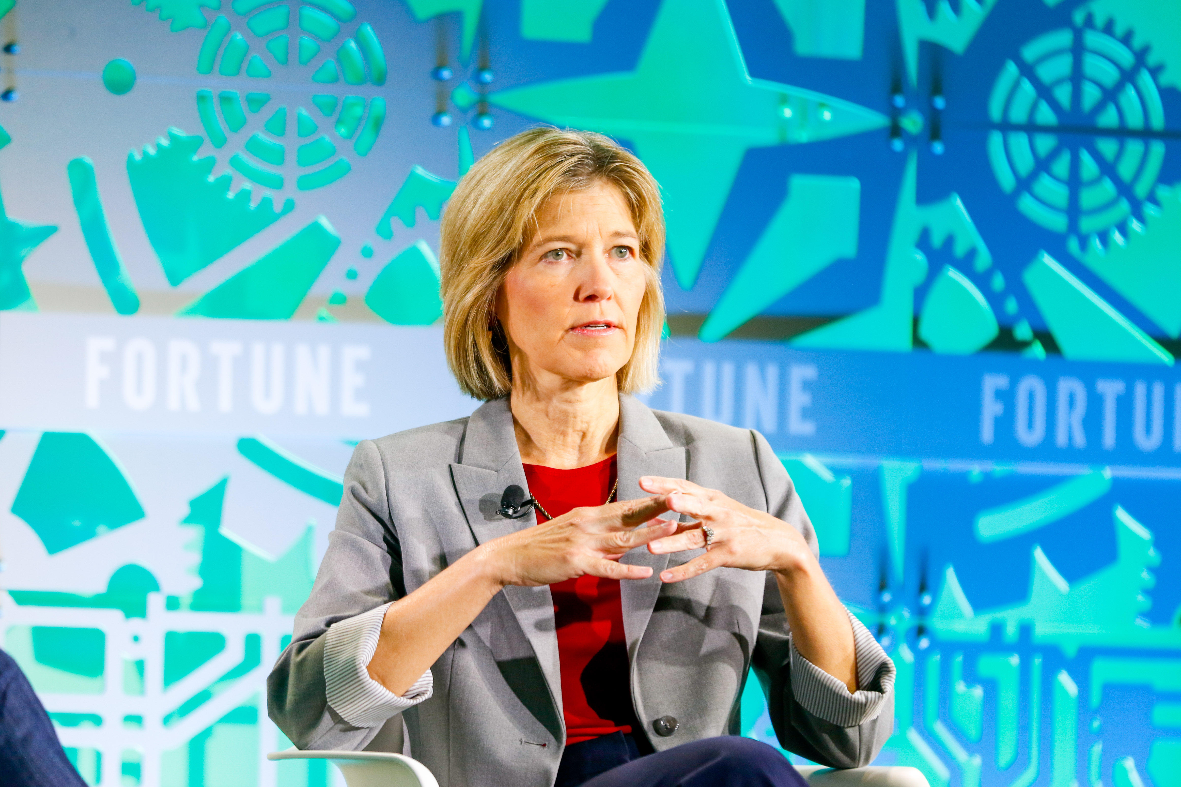 Amy Hess, executive assistant director of the FBI's criminal, cyber, response and services branch, called out China's hacking and other tactics at Fortune's Brainstorm Tech conference in Aspen, Colo.