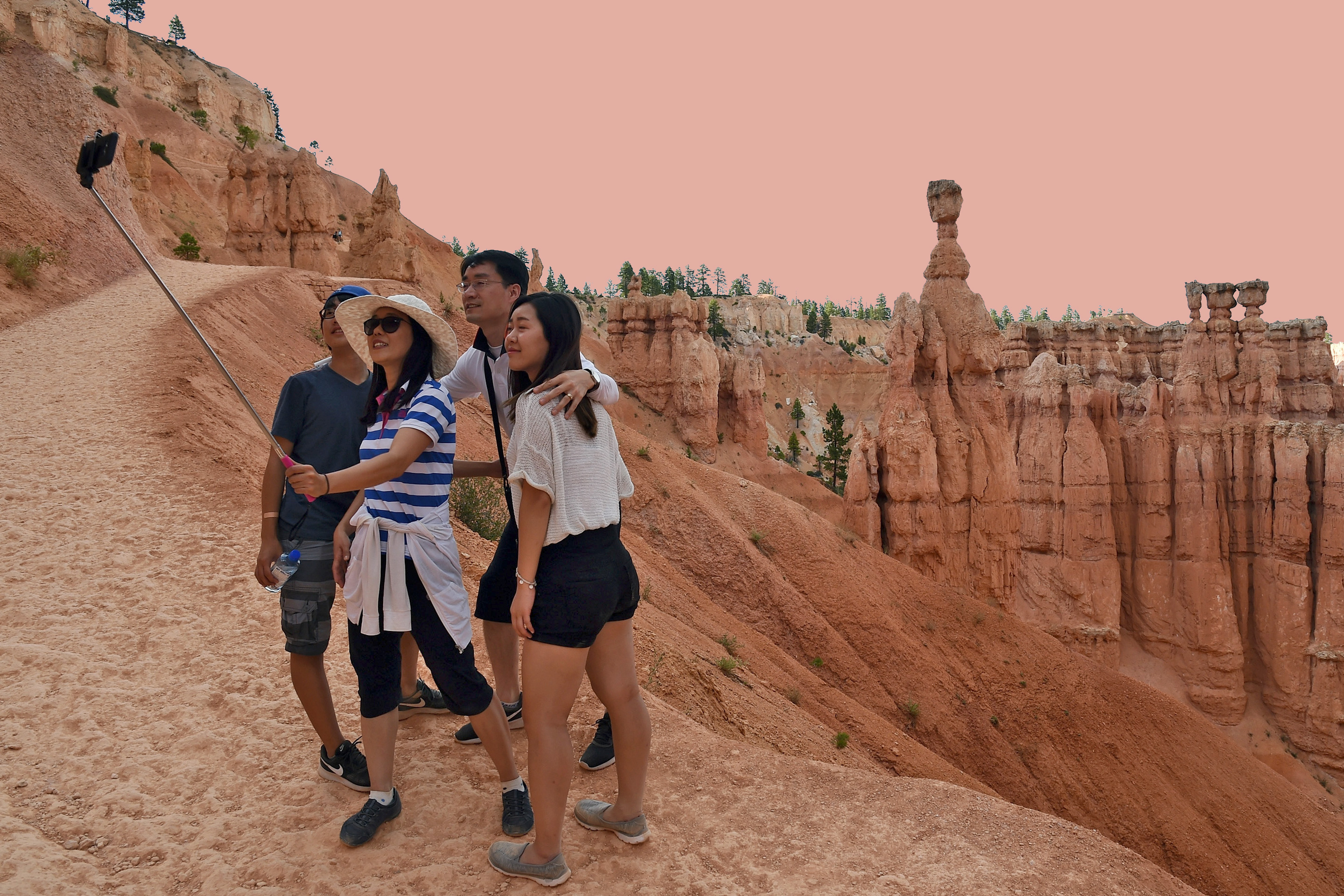 The National Park Service has issued a guide on safe selfies.