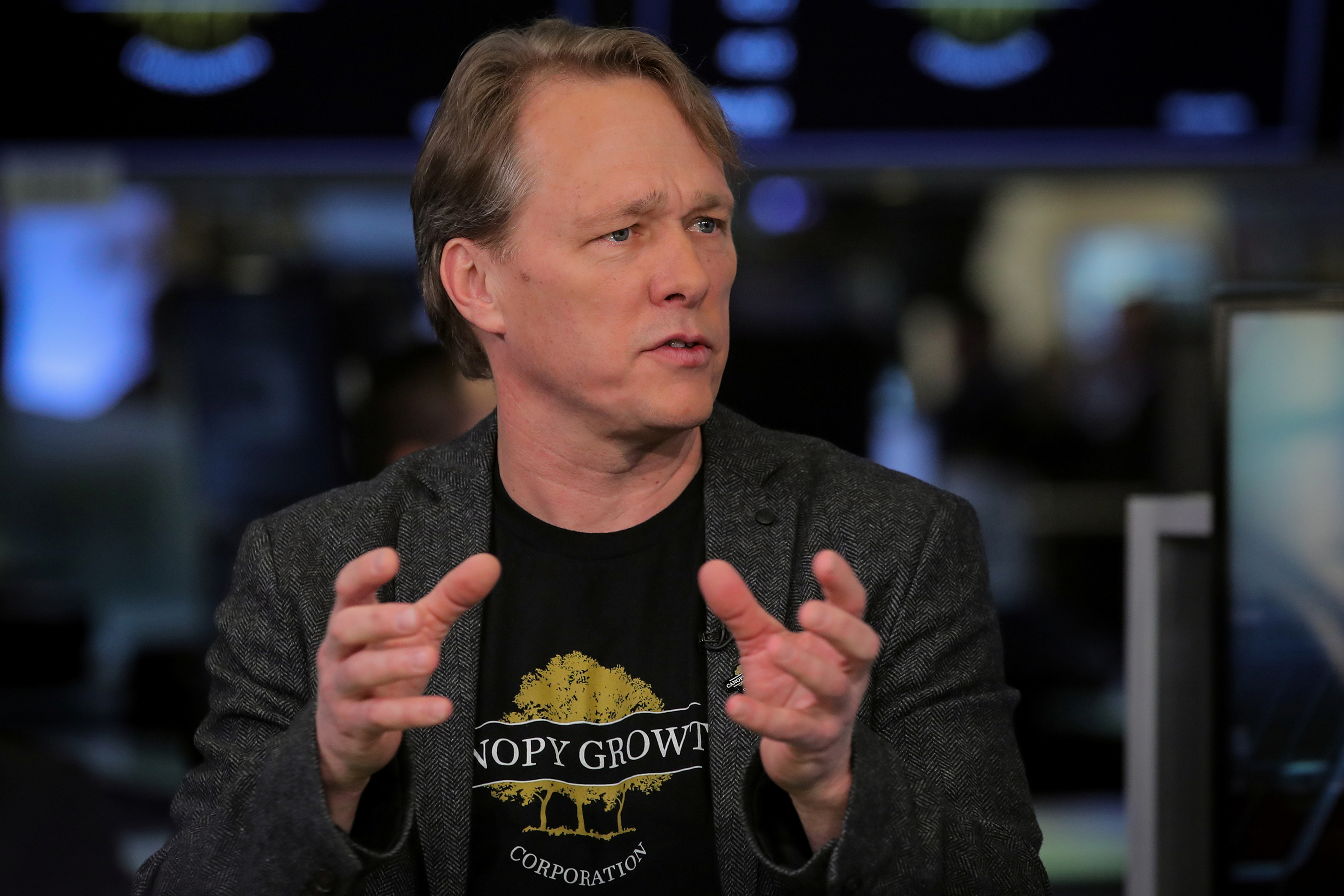 Bruce Linton Founder Co-Ceo Canopy Growth Ousted