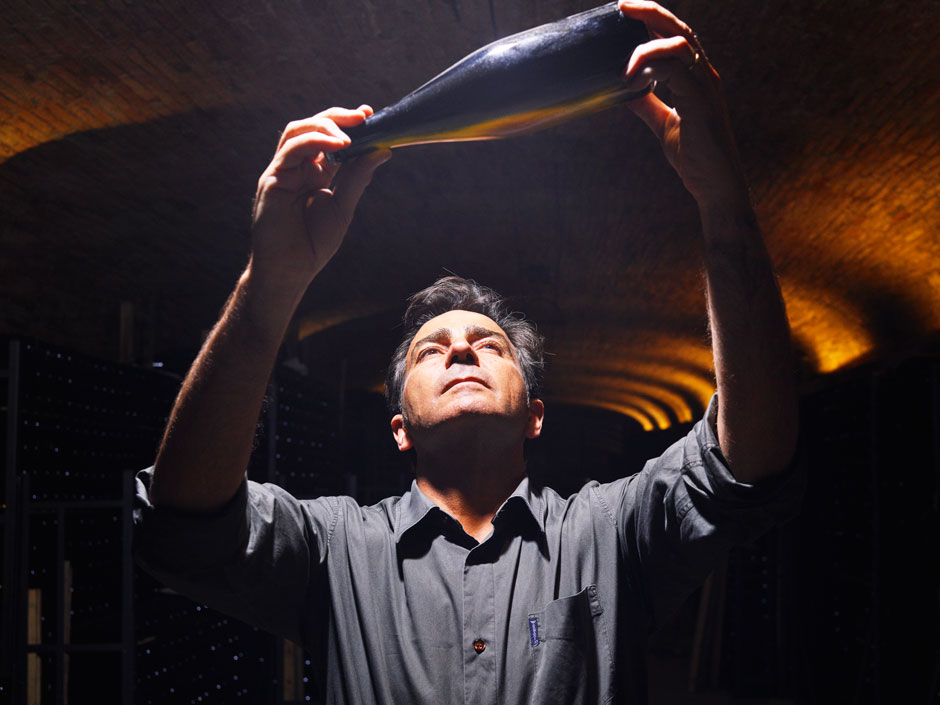 Codorniu winemaker Bruno Colomer. Courtesy of Codorniu