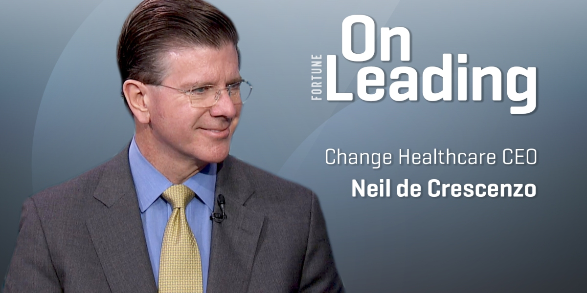 Change Healthcare CEO: IPO Marks Time To Change Healthcare