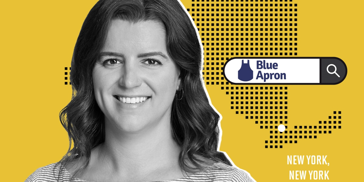 This Woman Went From Goldman Sachs to Blue Apron Recipe Tester. Here's Why