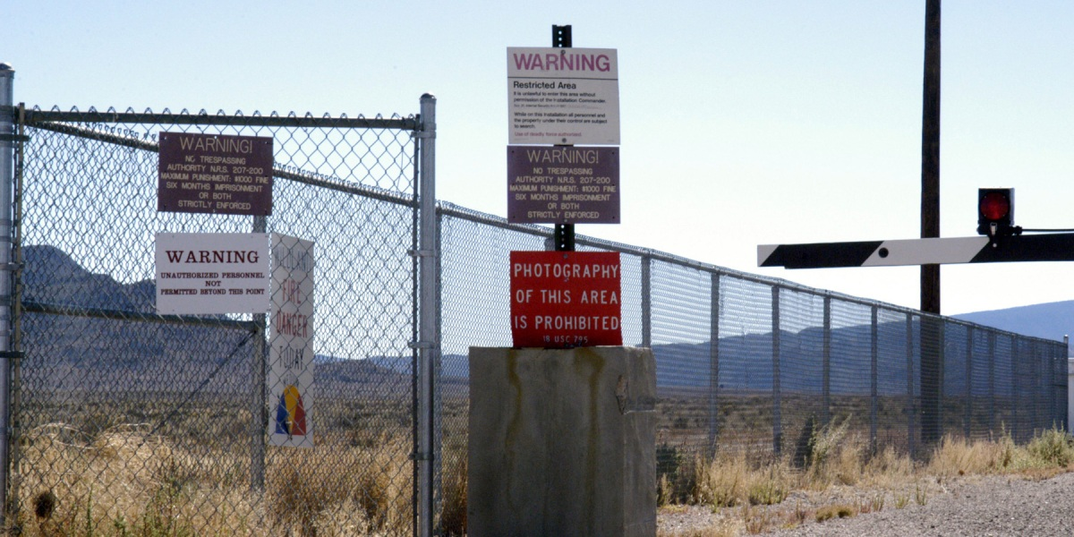 Don't Storm Area 51, U.S. Air Force Warns