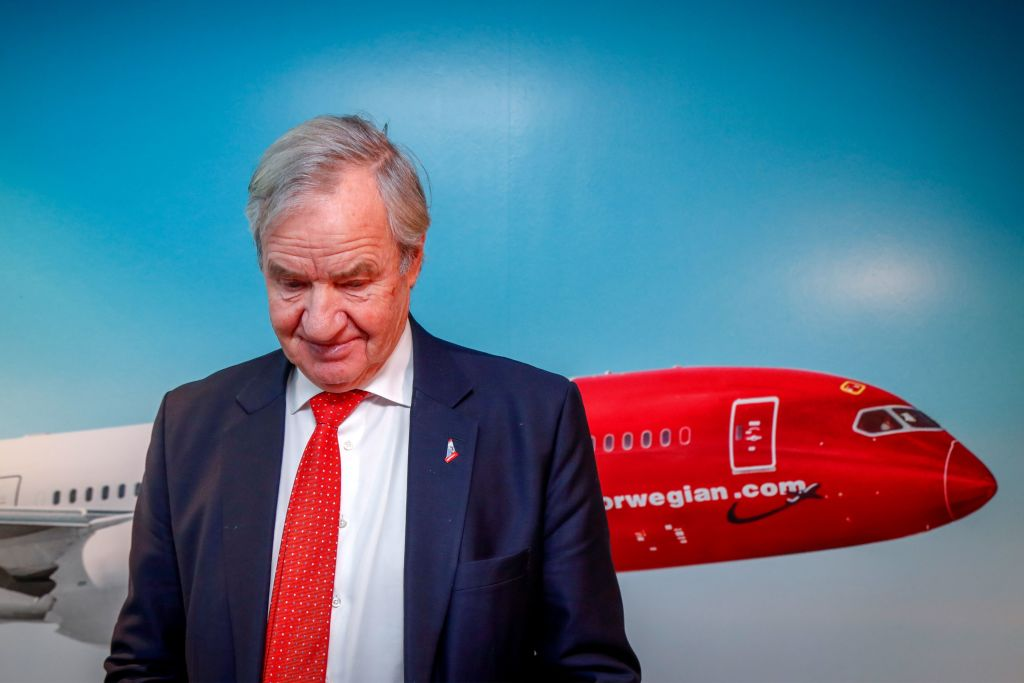 Bjorn Kjos, the CEO and one of the founders, said he would retire on Wednesday